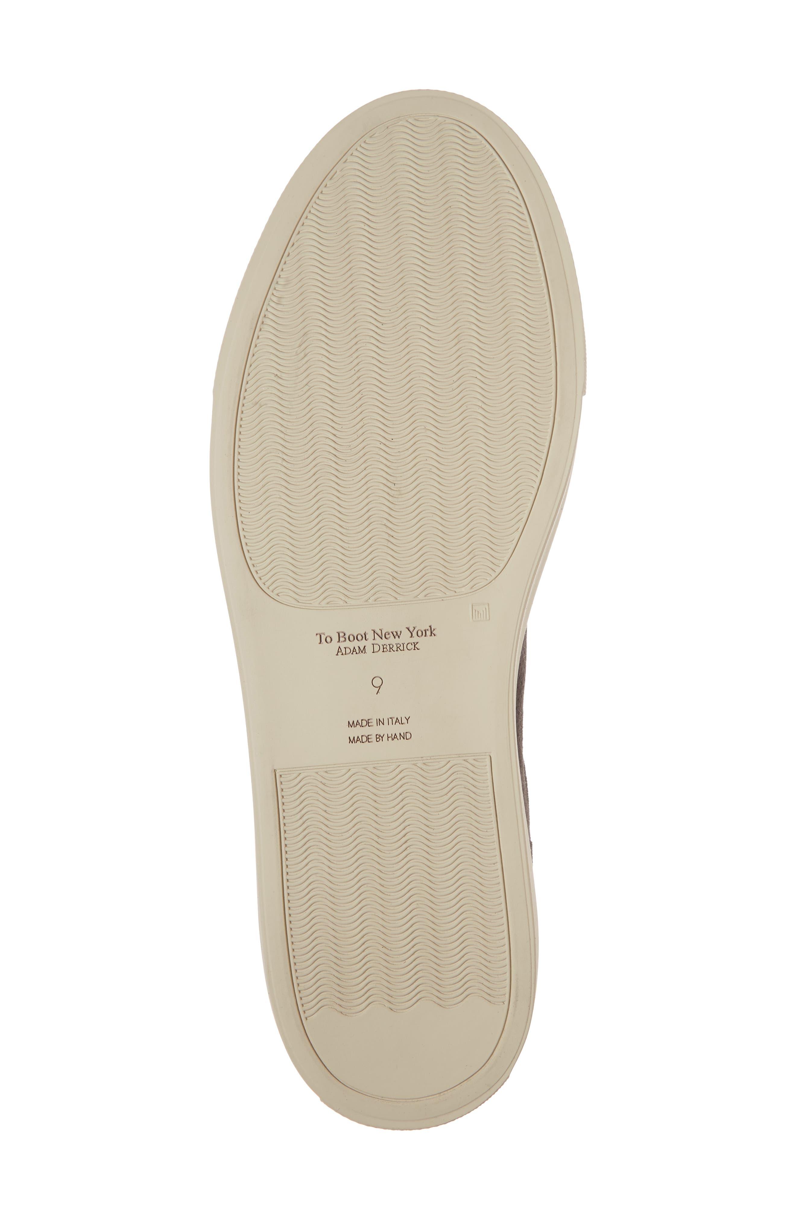 Hendrick Perforated Sneaker,                             Alternate thumbnail 6, color,                             Lavagna