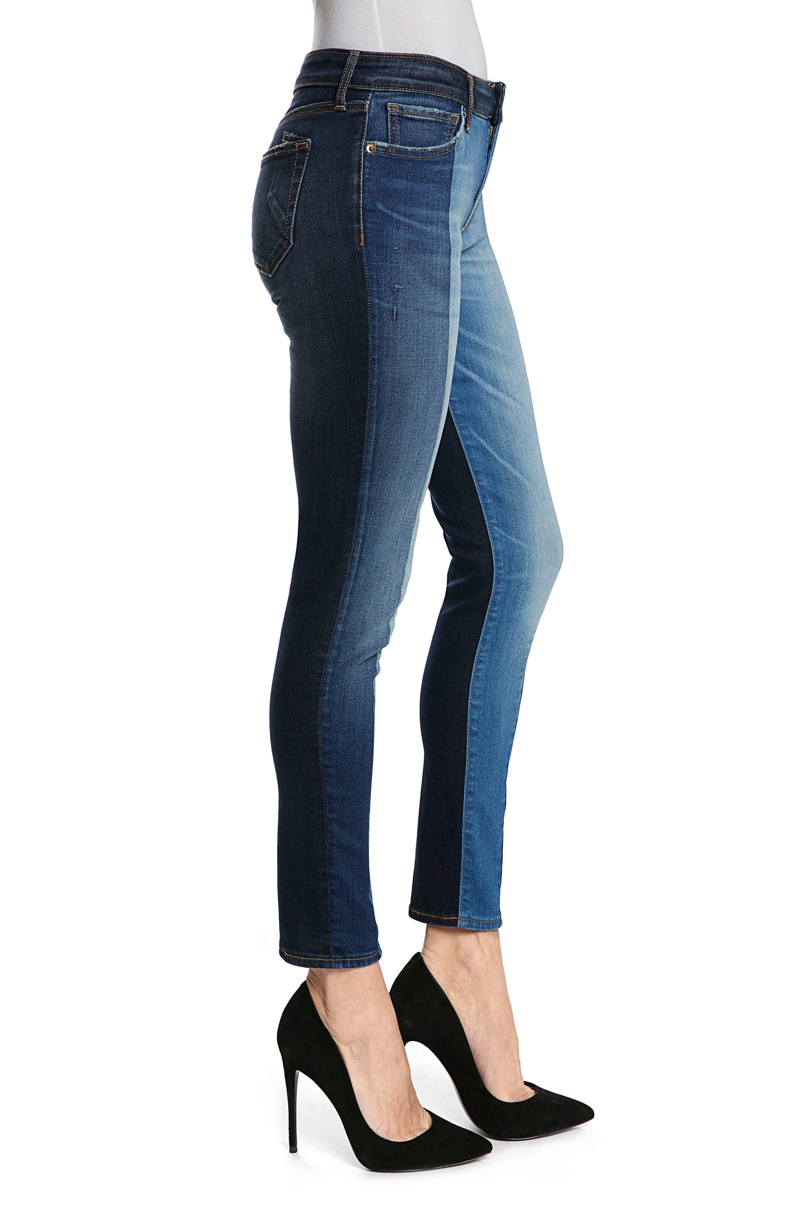 Camaro Ankle Skinny Jeans,                             Alternate thumbnail 3, color,                             Indigo