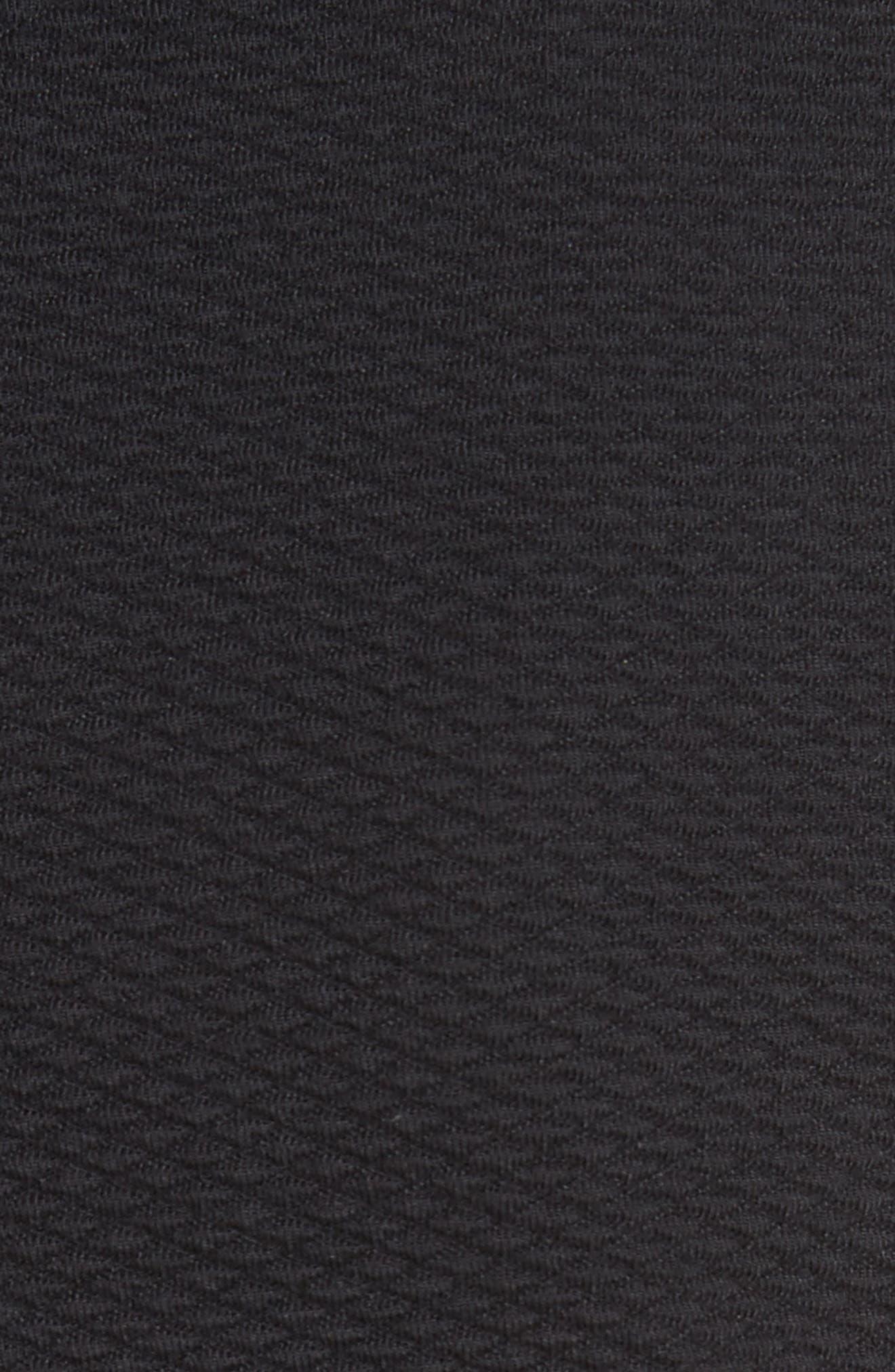 Terri Dress,                             Alternate thumbnail 5, color,                             Black