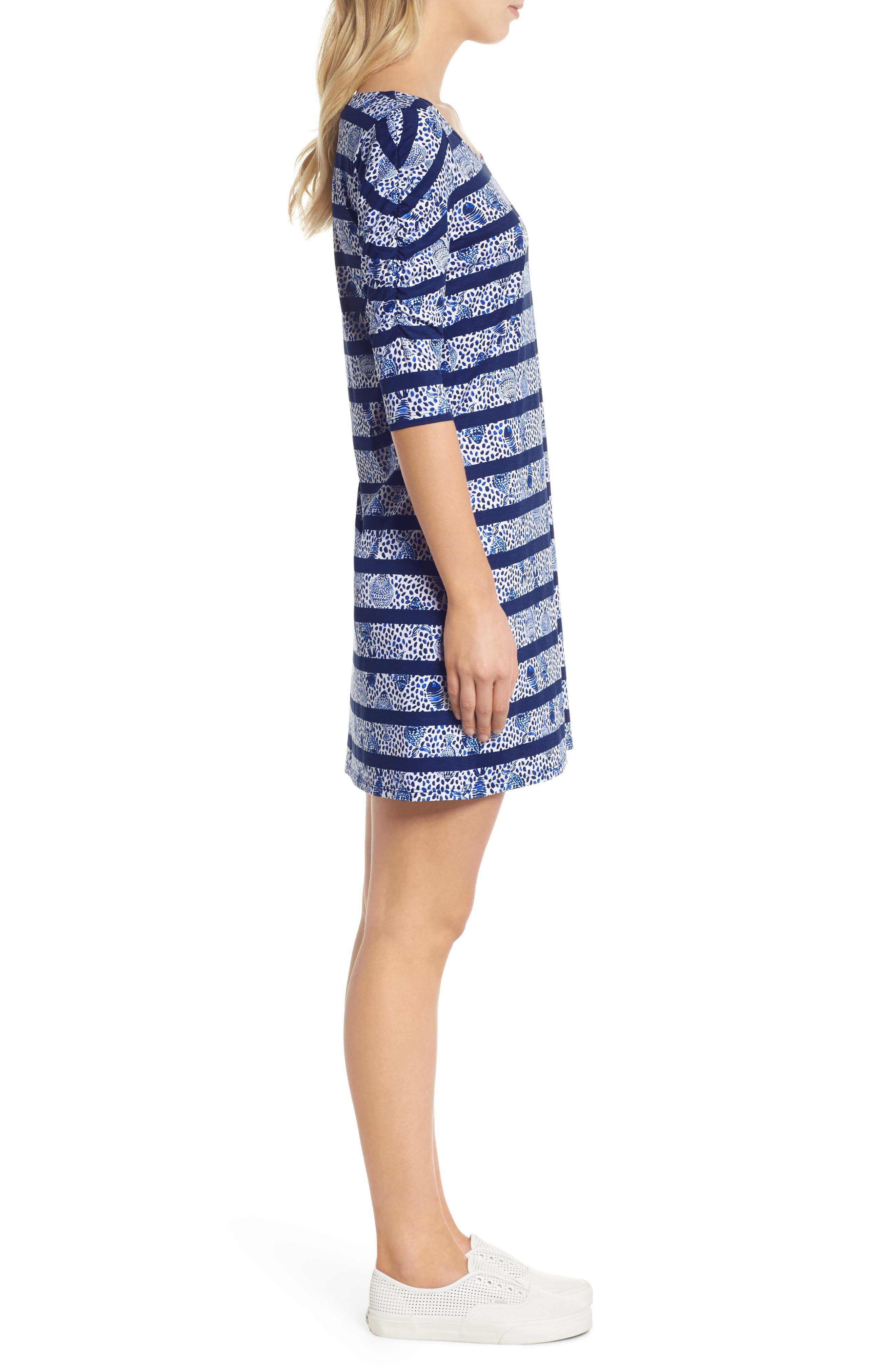 Lajolla Stripe Dress,                             Alternate thumbnail 3, color,                             High Tide Heart And Sole
