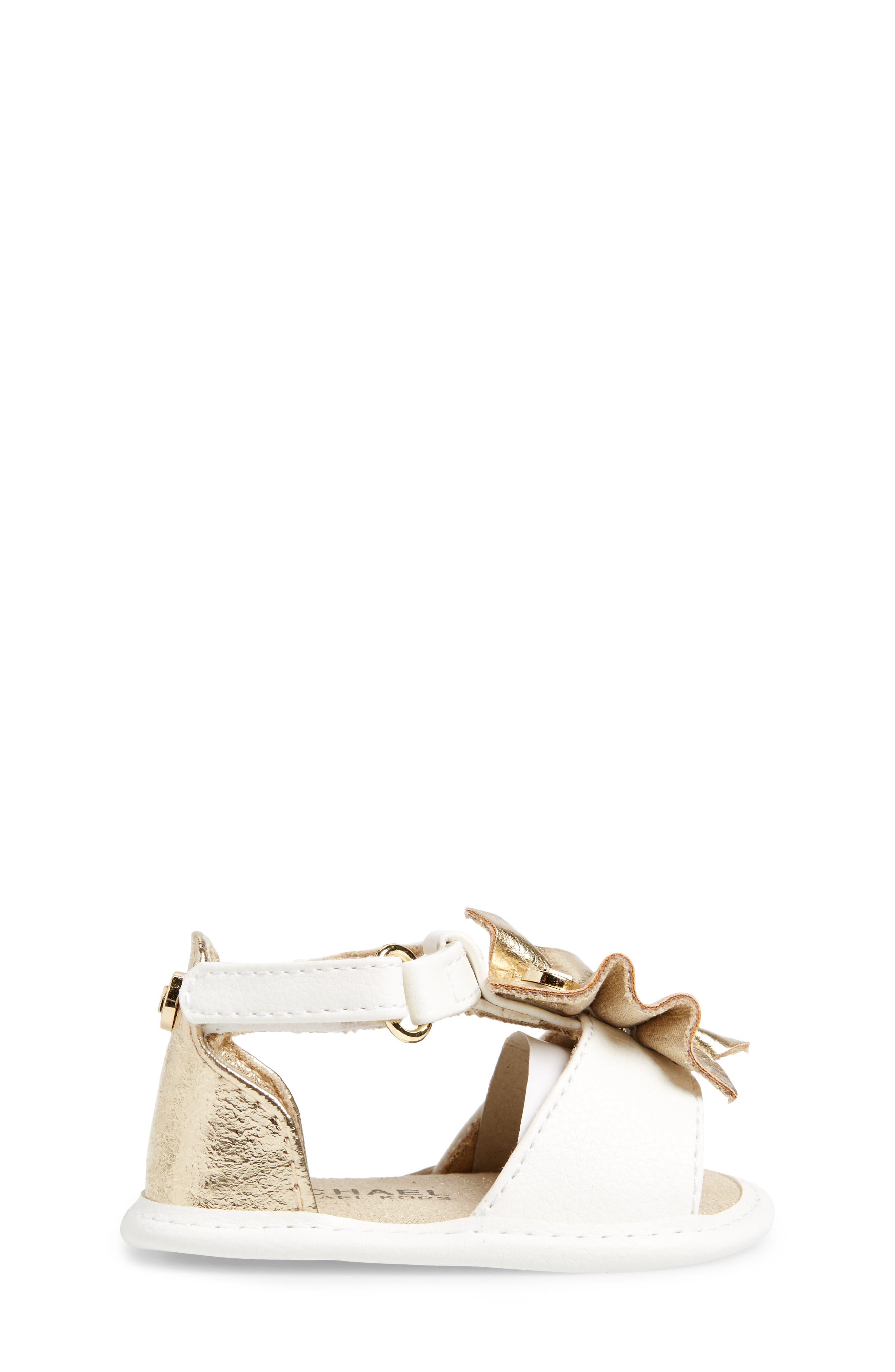 Clue Sandal,                             Alternate thumbnail 3, color,                             White Gold