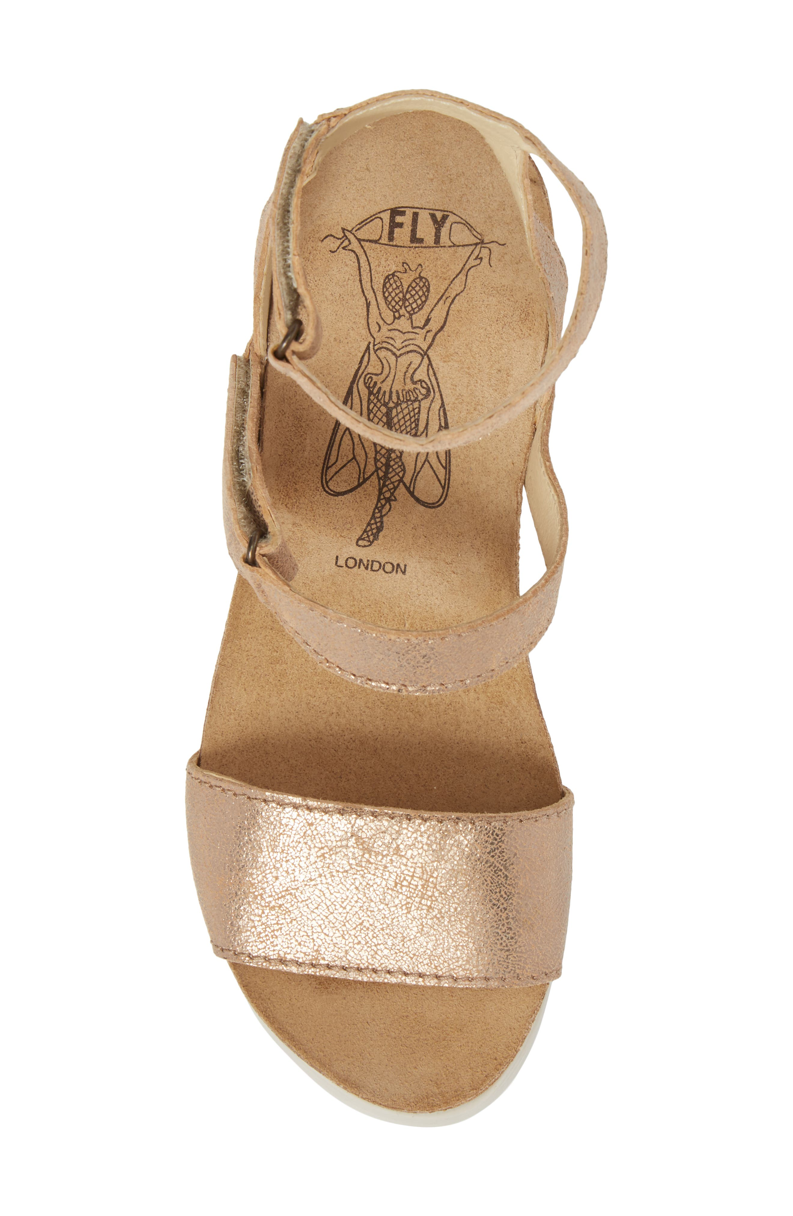 Alternate Image 5  - Fly London Wink Platform Sandal (Women)