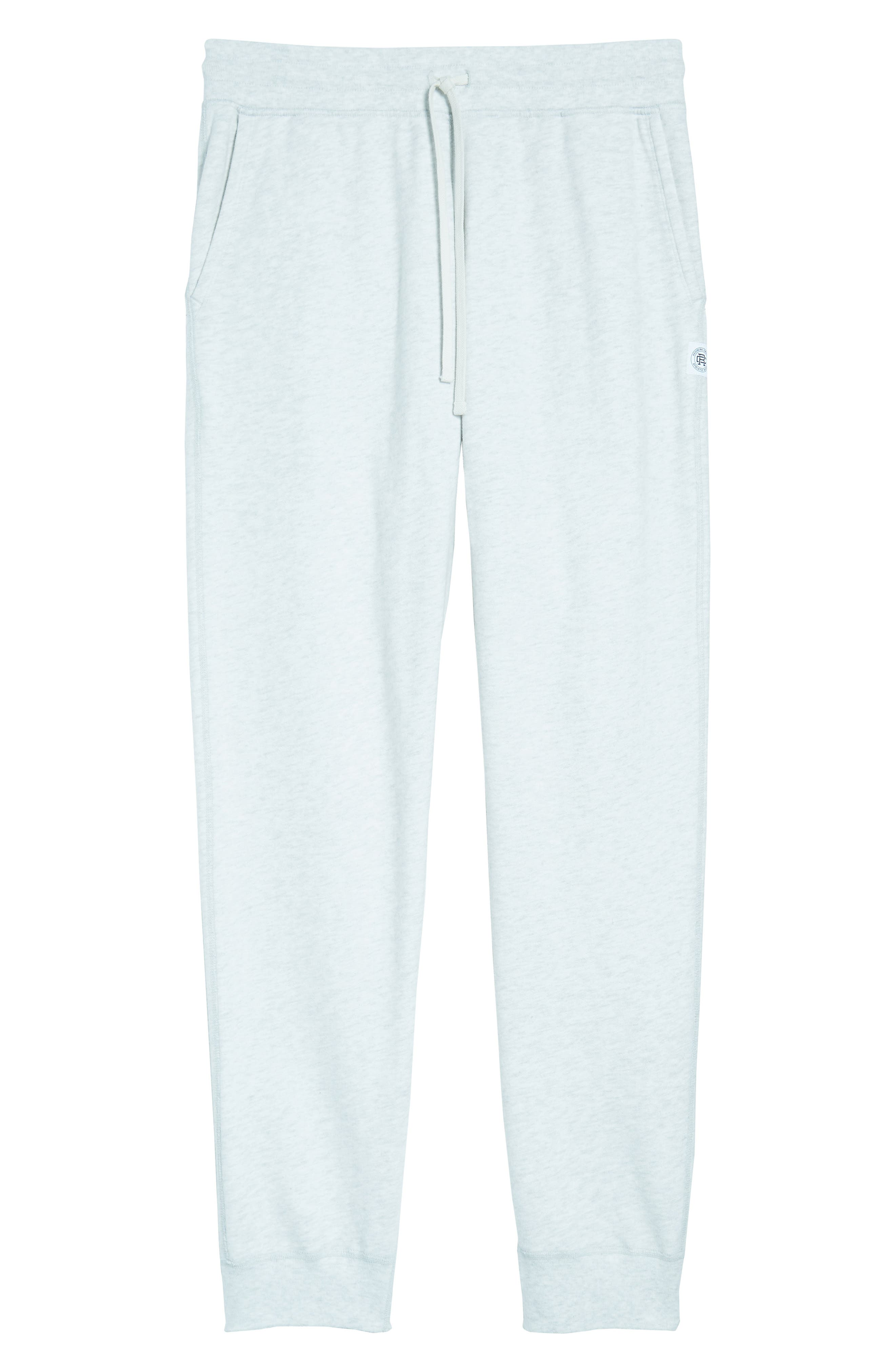 Slim Fit Sweatpants,                             Alternate thumbnail 6, color,                             Heather Ash