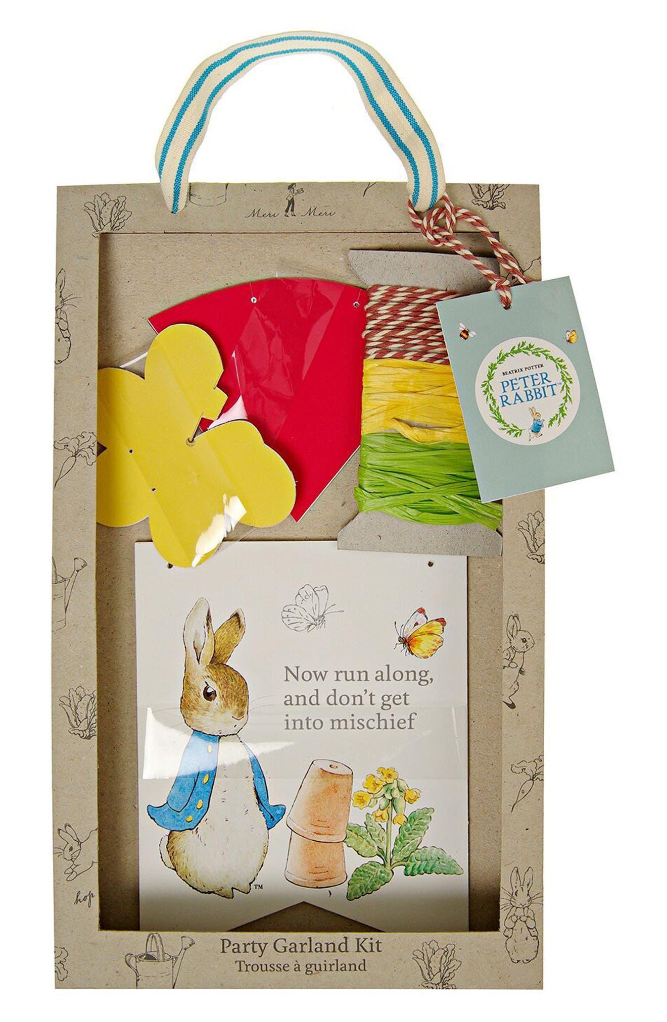 Peter Rabbit Party Bundle,                             Alternate thumbnail 9, color,                             Ivory Multi