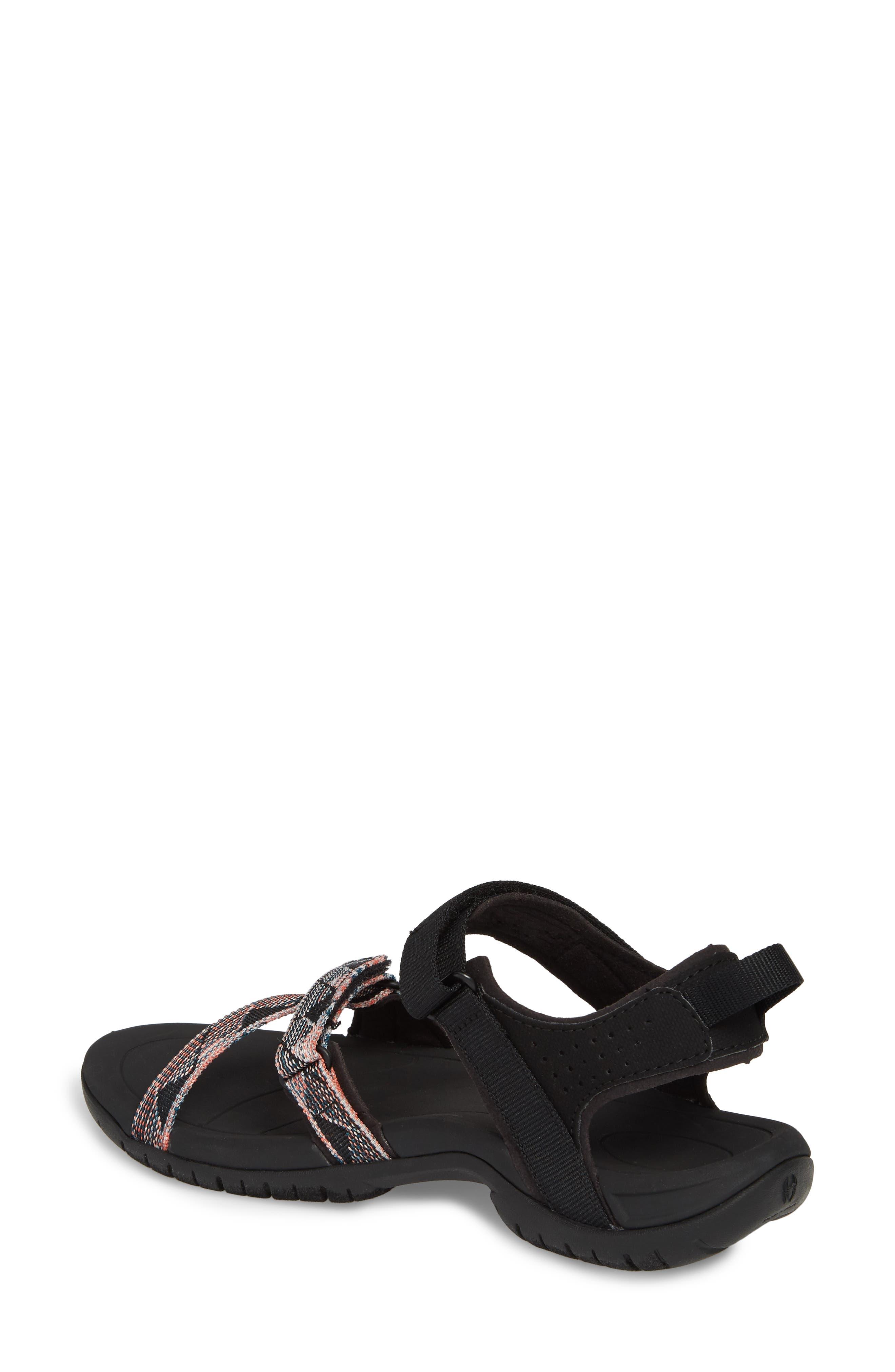 'Verra' Sandal,                             Alternate thumbnail 2, color,                             Suri Black Multi