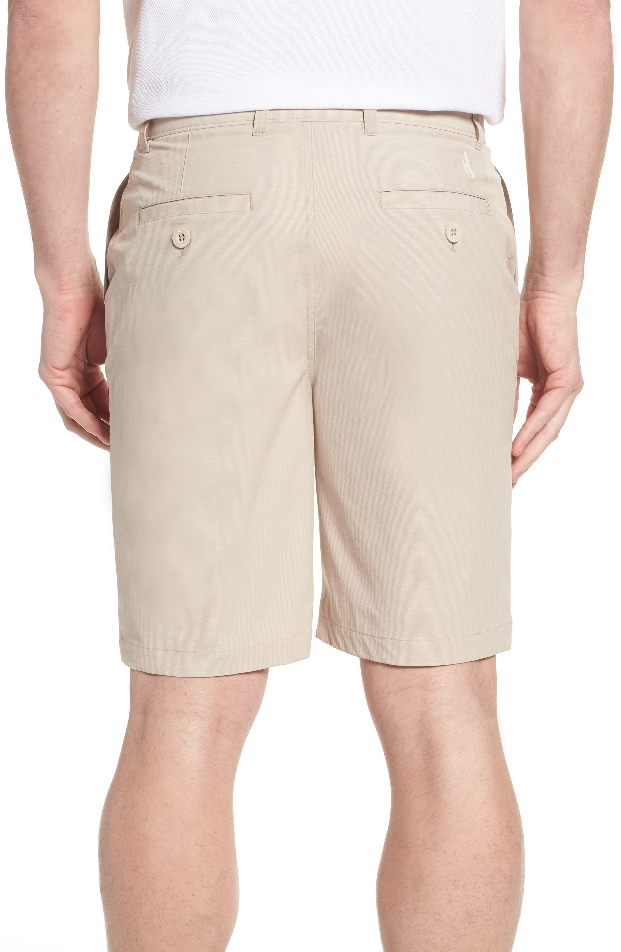 Wyatt Regular Fit Stretch Shorts,                             Alternate thumbnail 2, color,                             Stone