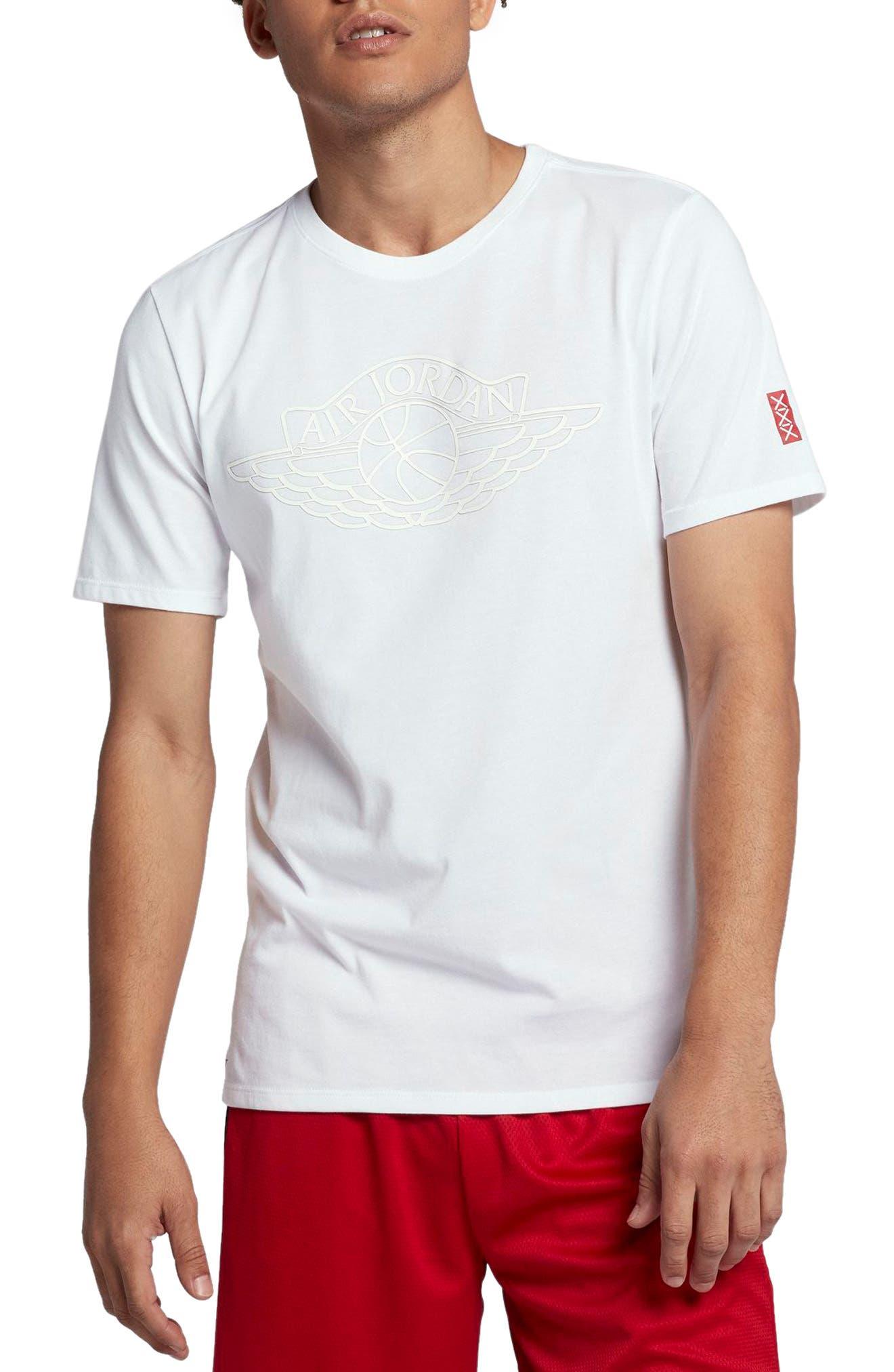 Rise Crewneck T-Shirt,                         Main,                         color, White