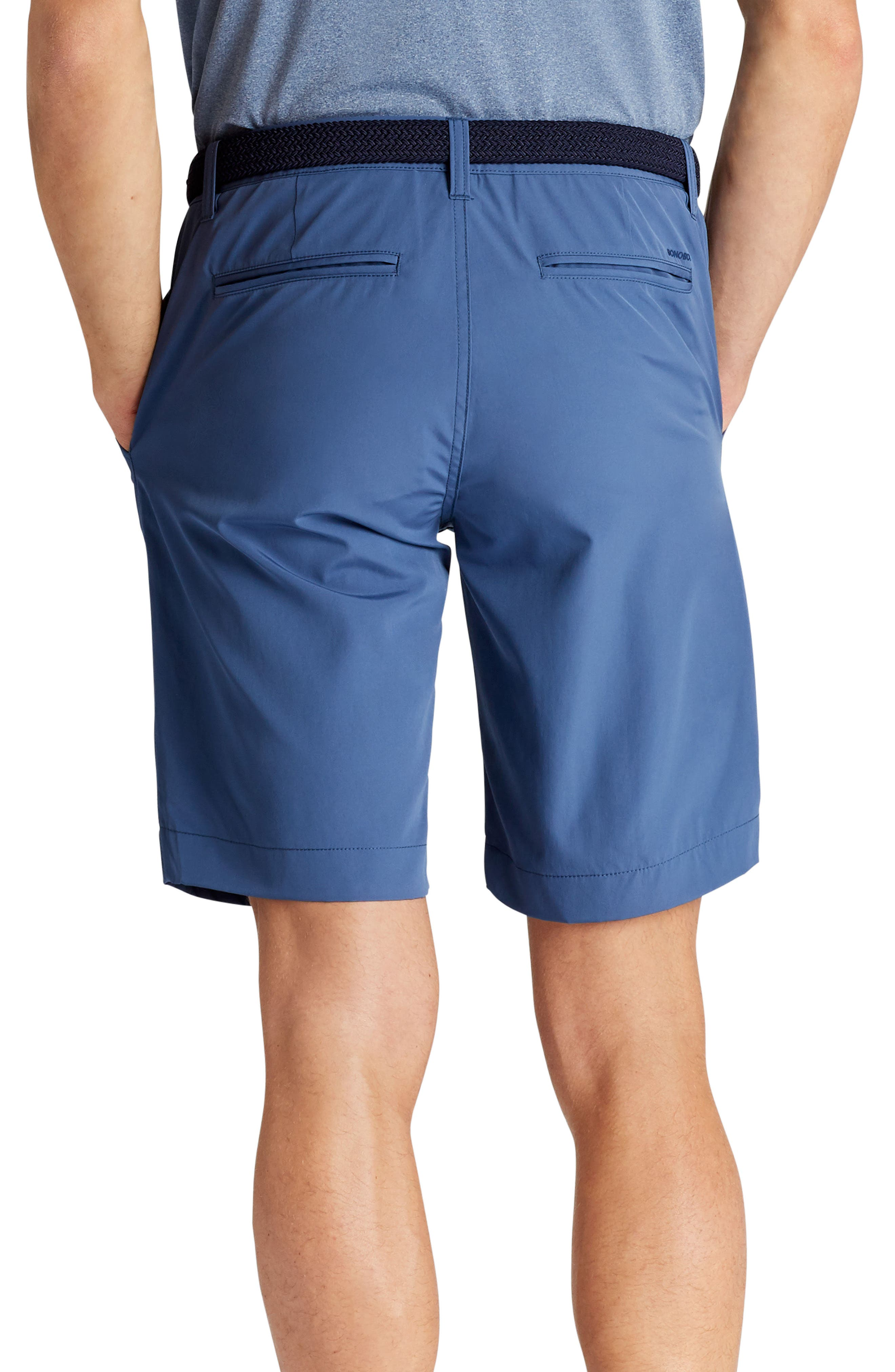 Lightweight Highland Golf Shorts,                             Alternate thumbnail 2, color,                             Indigo Fade