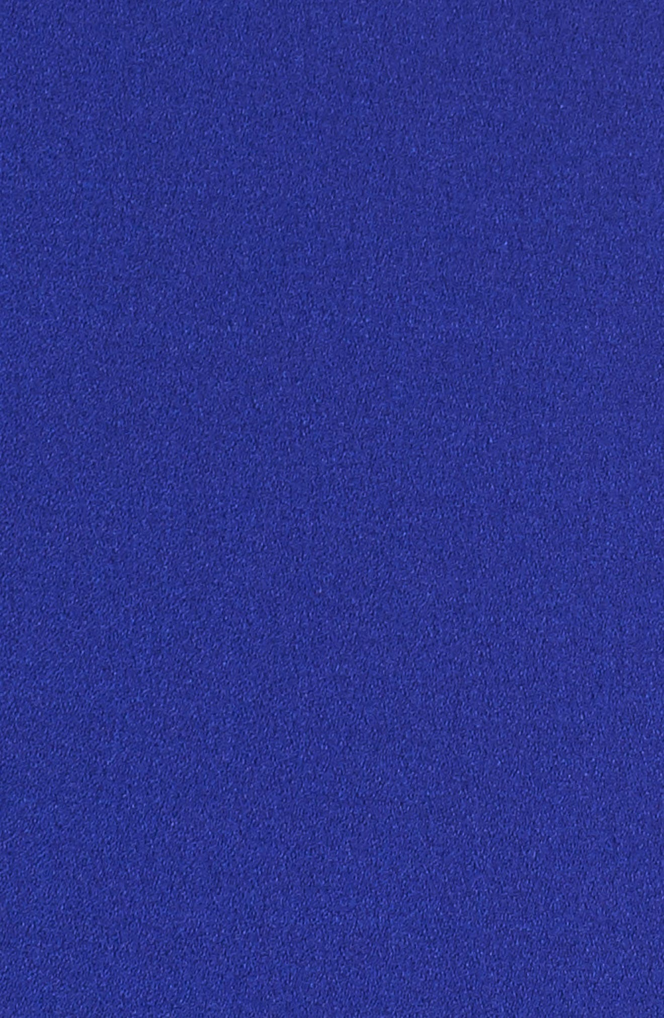 Ruffle Cold Shoulder Shift Dress,                             Alternate thumbnail 5, color,                             Blue Surf