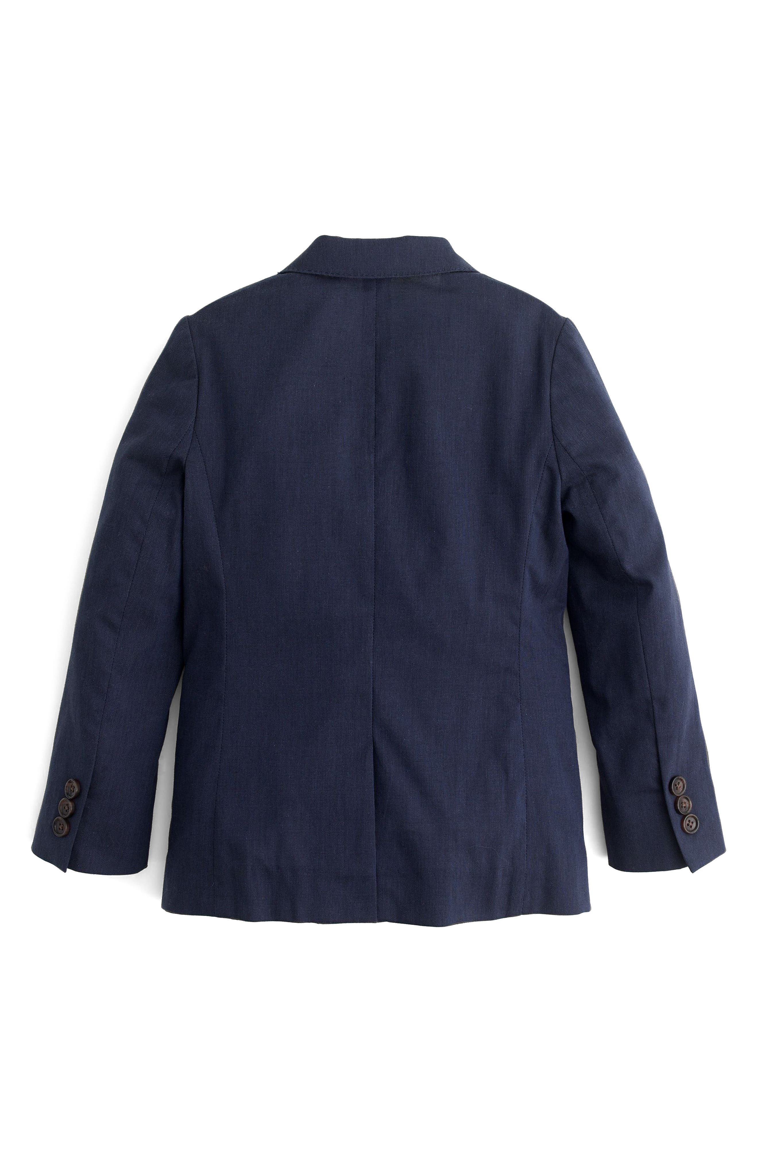 Ludlow Unstructured Suit Jacket,                             Alternate thumbnail 2, color,                             Navy