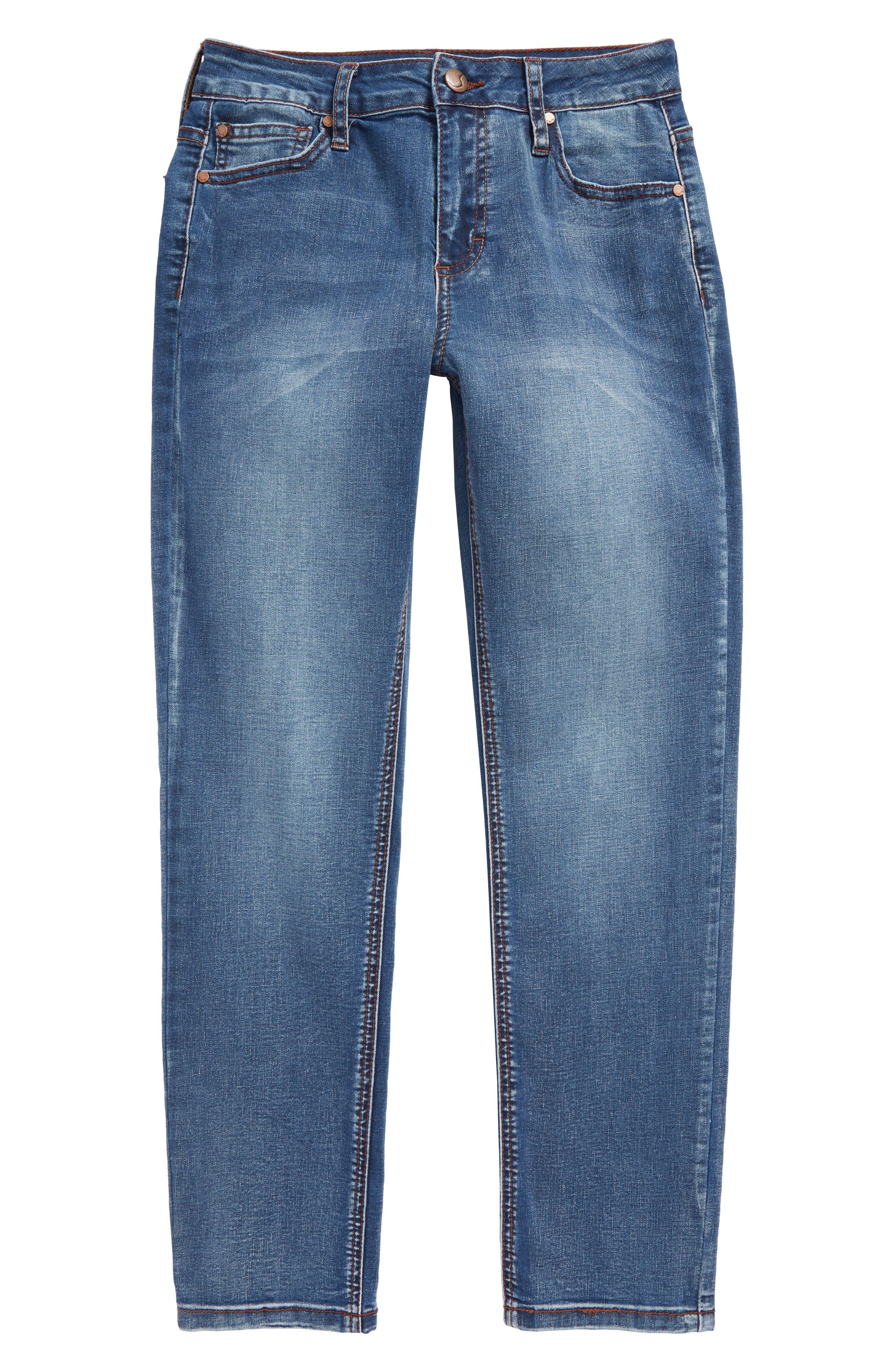 Brixton Slim Fit Stretch Jeans,                             Main thumbnail 1, color,                             Cielo