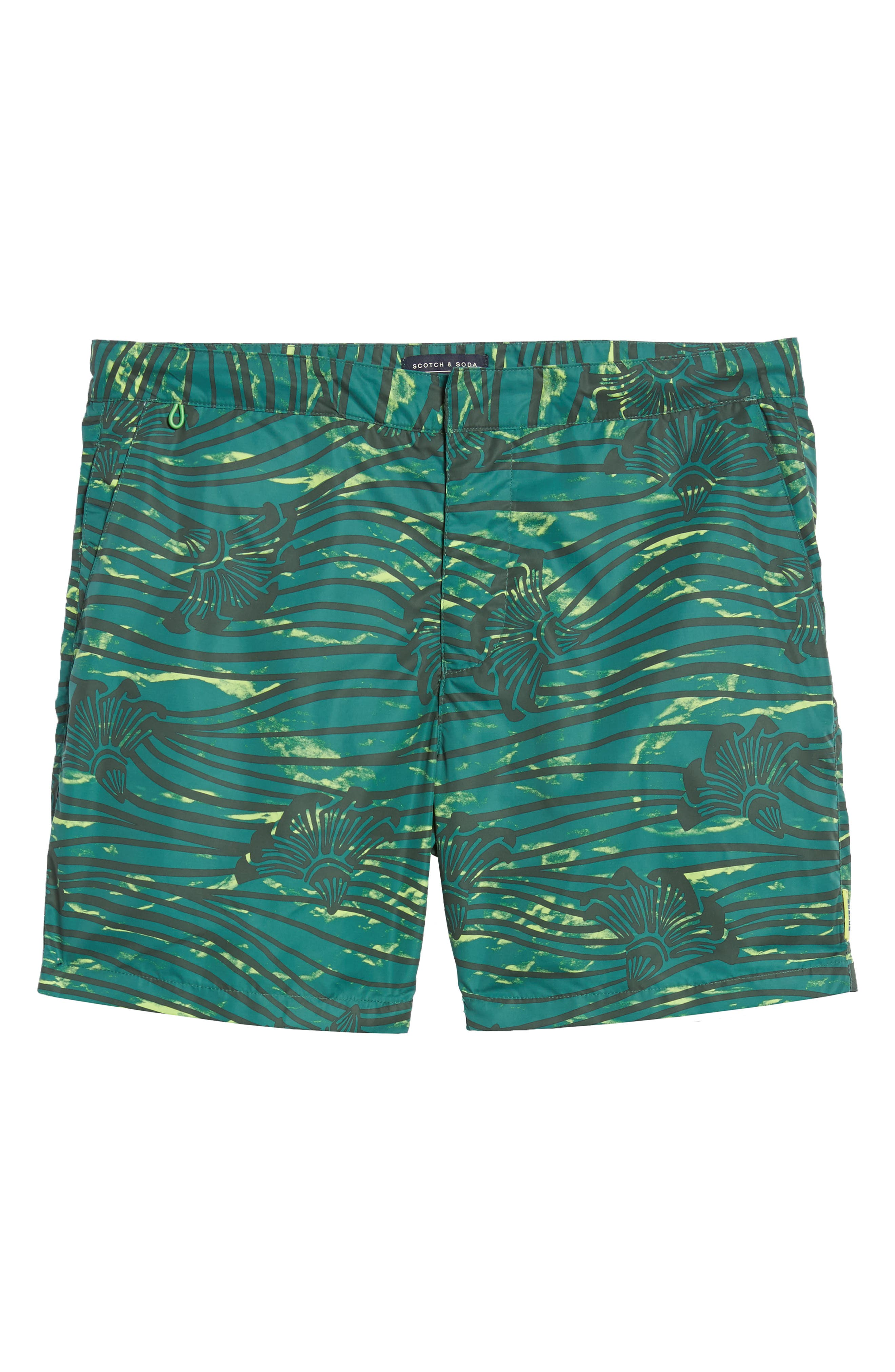 Patterned Board Shorts,                             Alternate thumbnail 6, color,                             Combo E