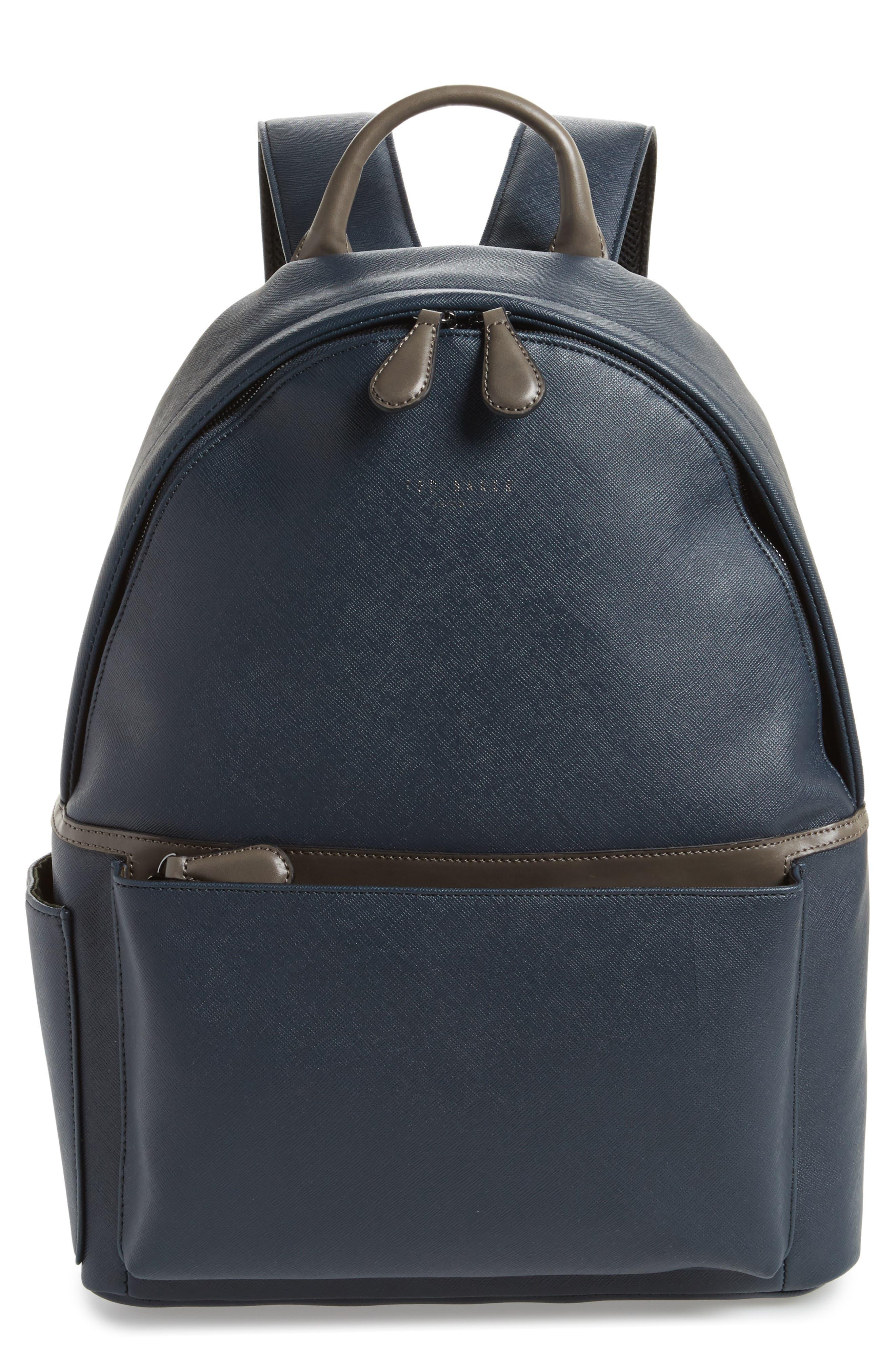 Baarley Backpack,                         Main,                         color, Navy