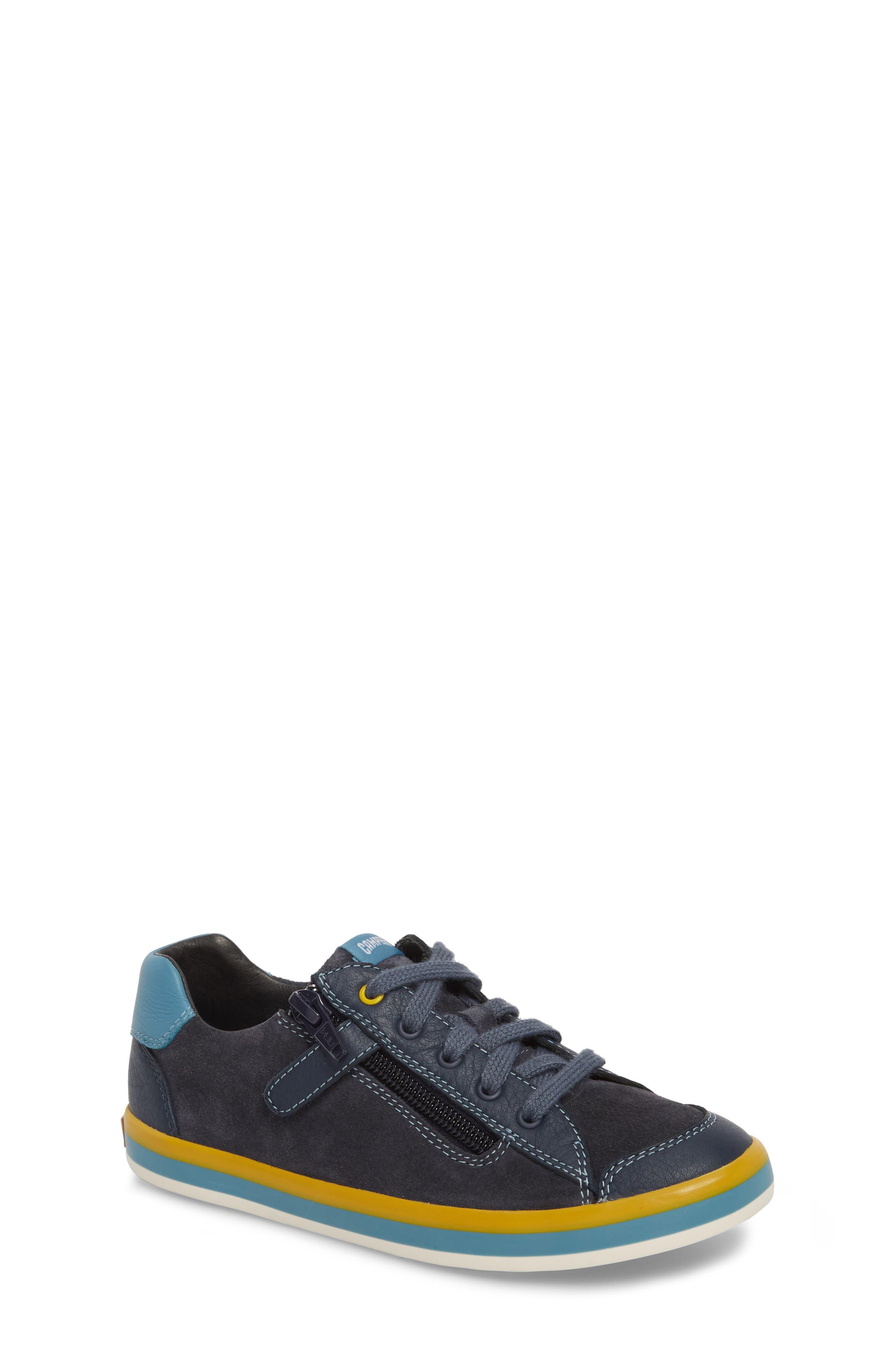 Pursuit Sneaker,                         Main,                         color, Blue