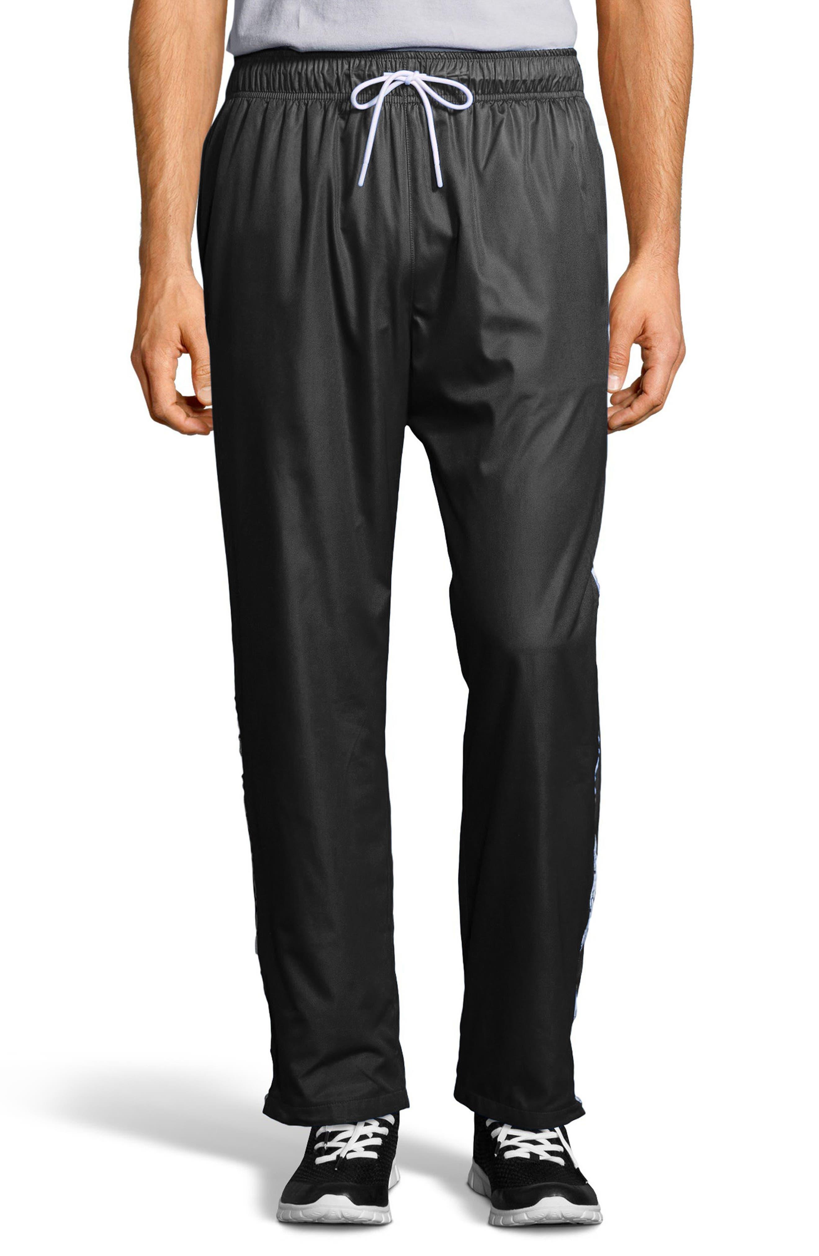 Satin Pants,                         Main,                         color, Black