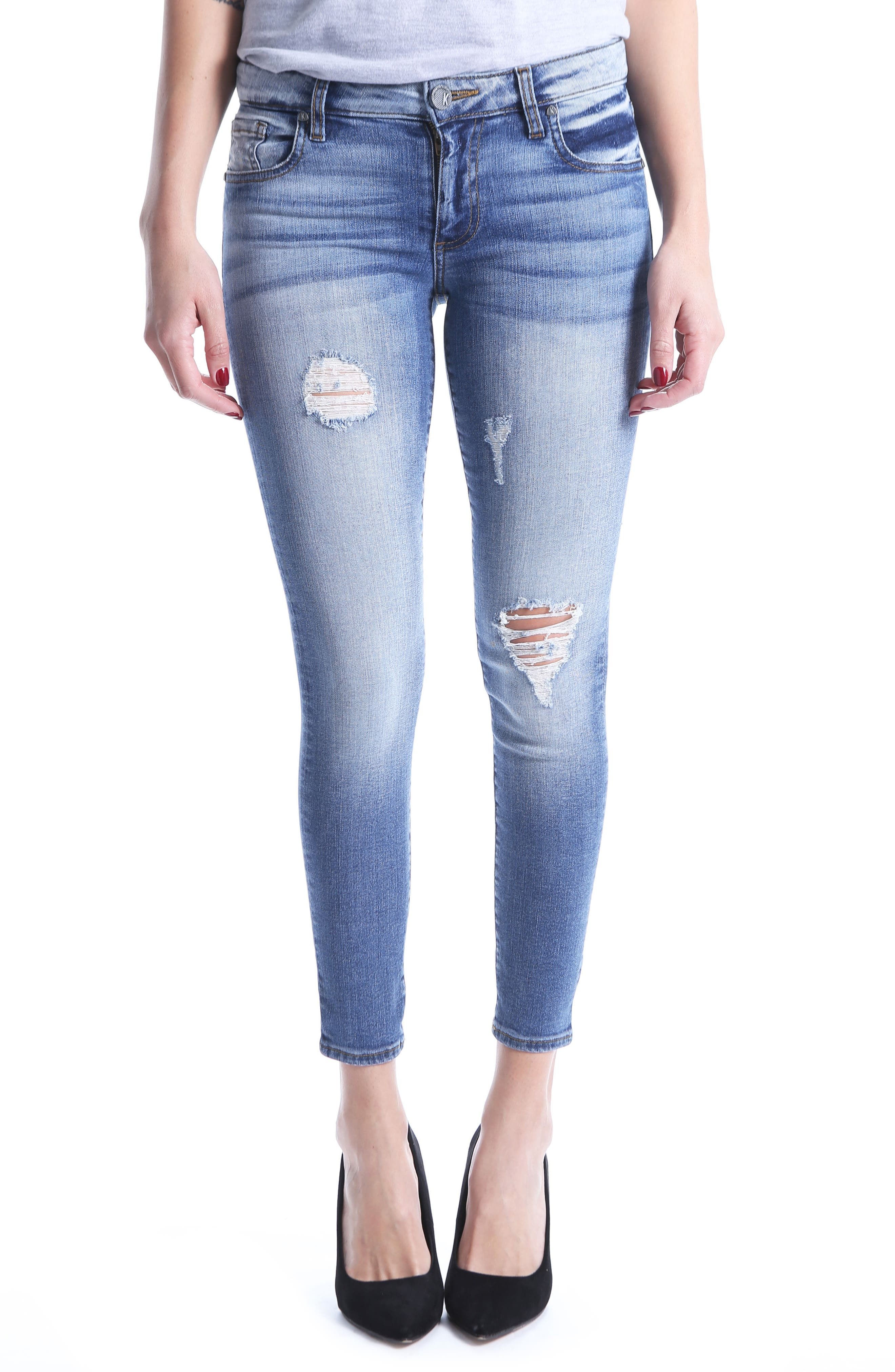 KUT from the Kloth Donna Ankle Skinny Jeans