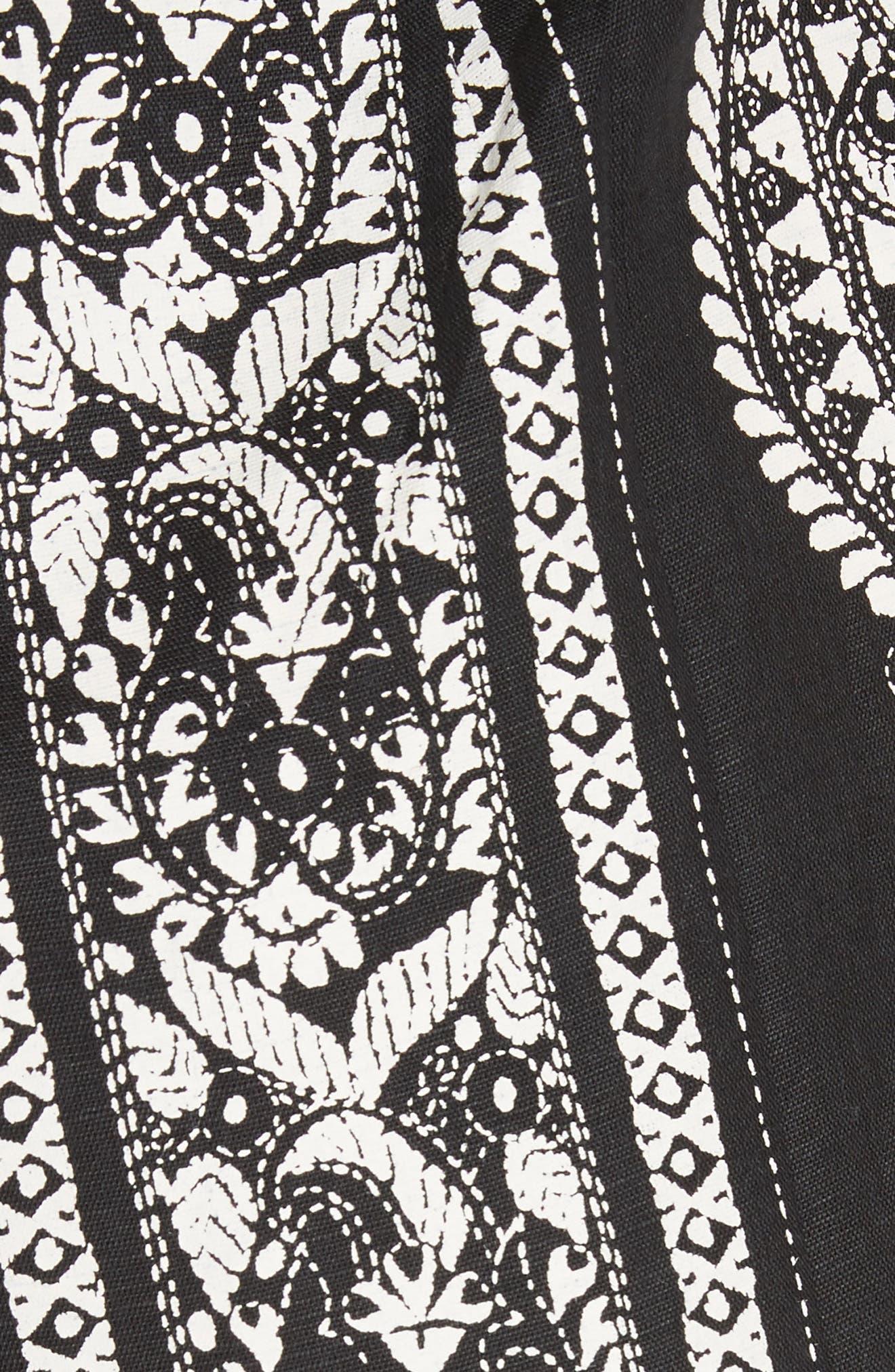 Feel the Sun Jumpsuit,                             Alternate thumbnail 5, color,                             Black