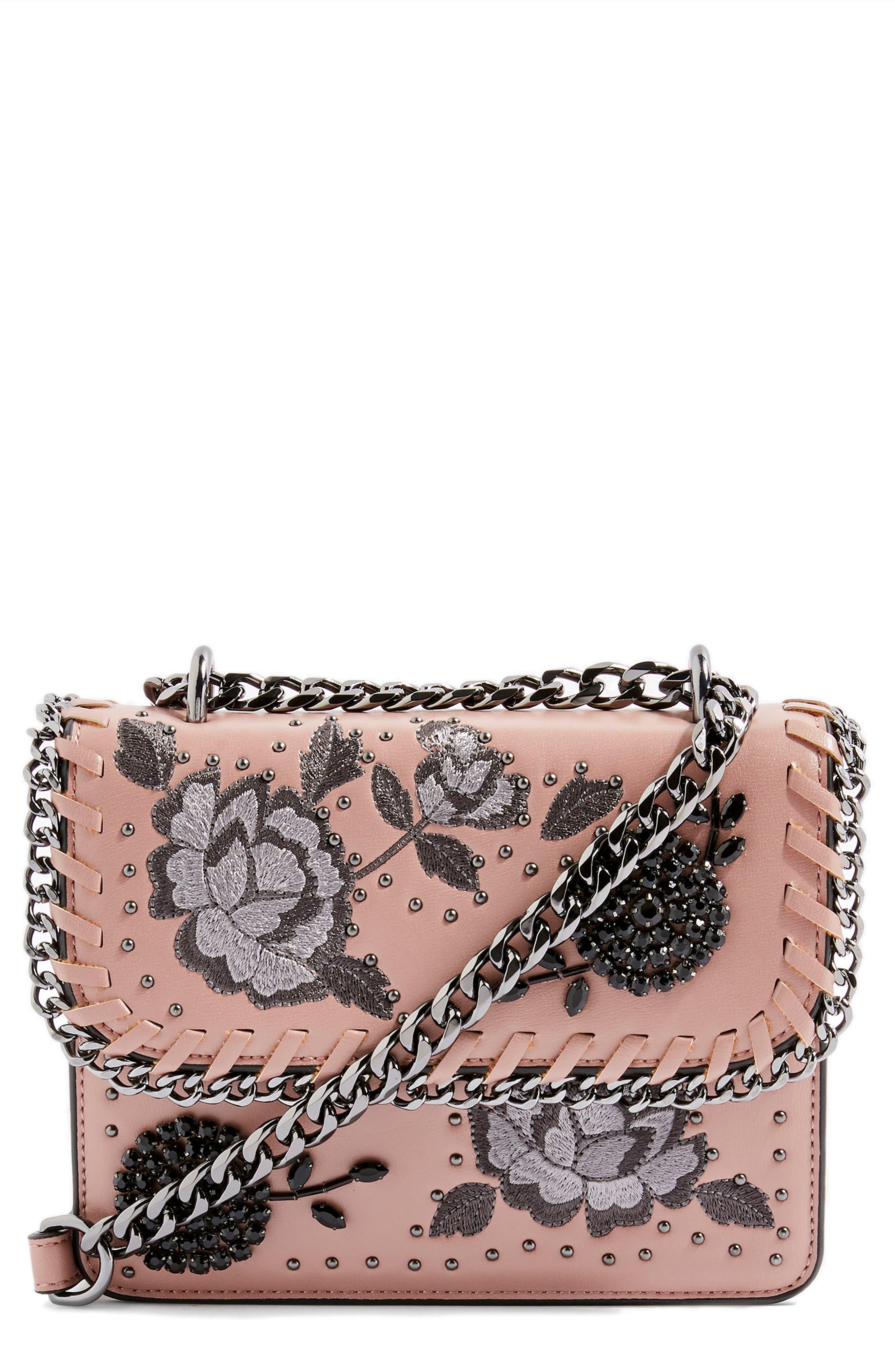 Topshop Rio Floral Crossbody Bag