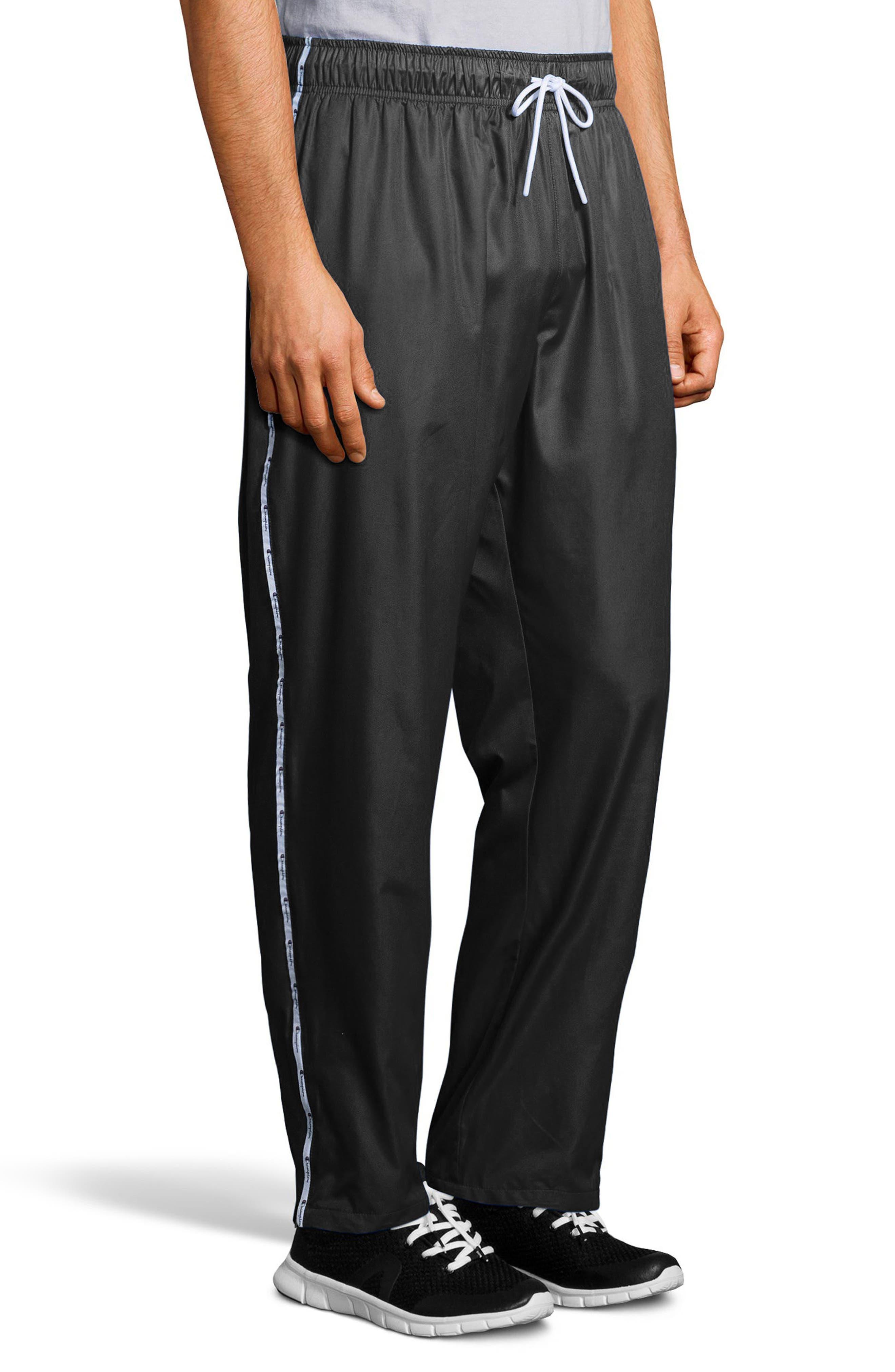 Satin Pants,                             Alternate thumbnail 3, color,                             Black