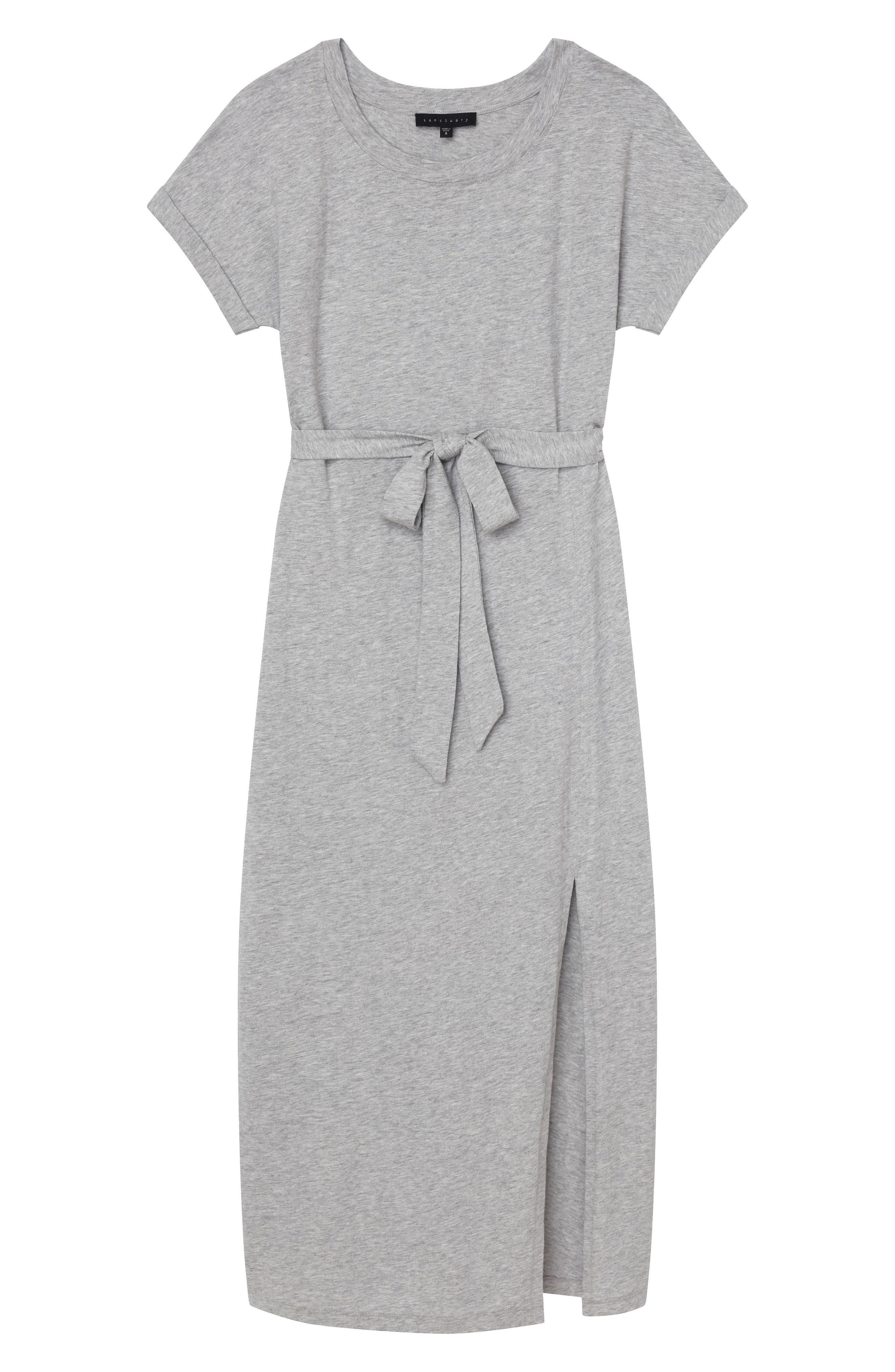 Isle Maxi Dress,                             Alternate thumbnail 5, color,                             Heather Grey