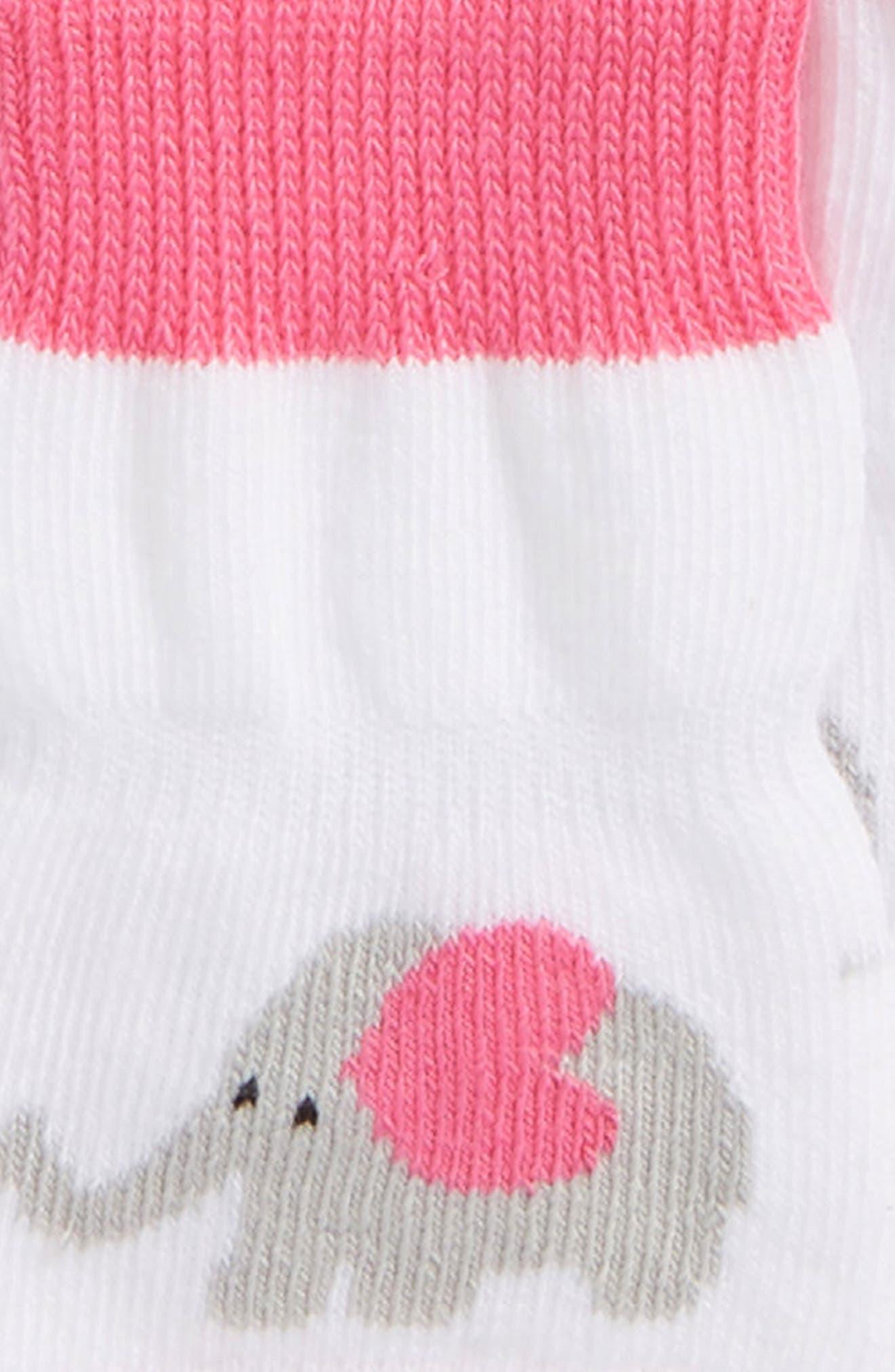 Alternate Image 2  - Robeez® Little Peanut 3-Pack Socks (Baby & Walker)
