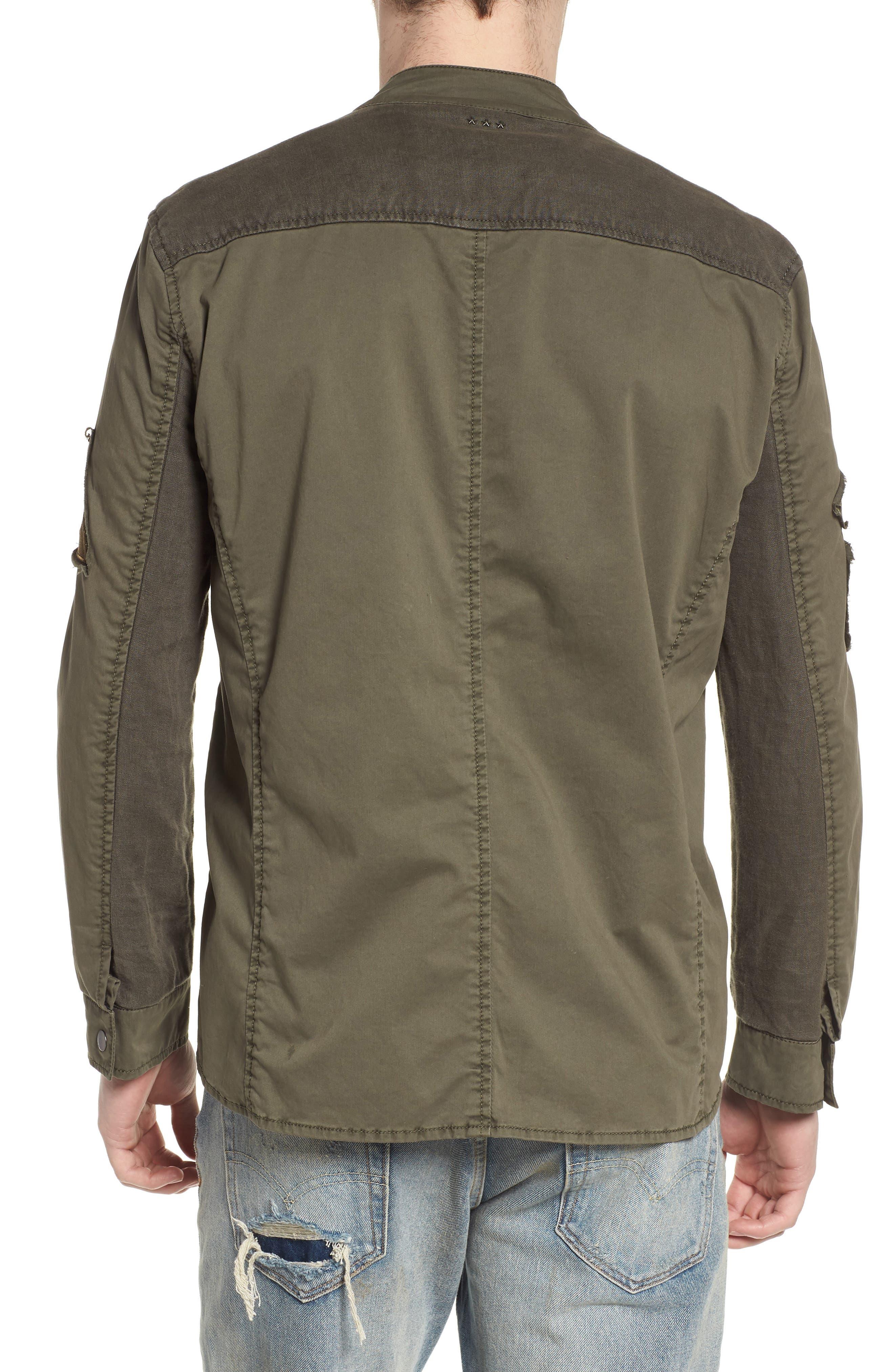 Shirt Jacket,                             Alternate thumbnail 2, color,                             Olive