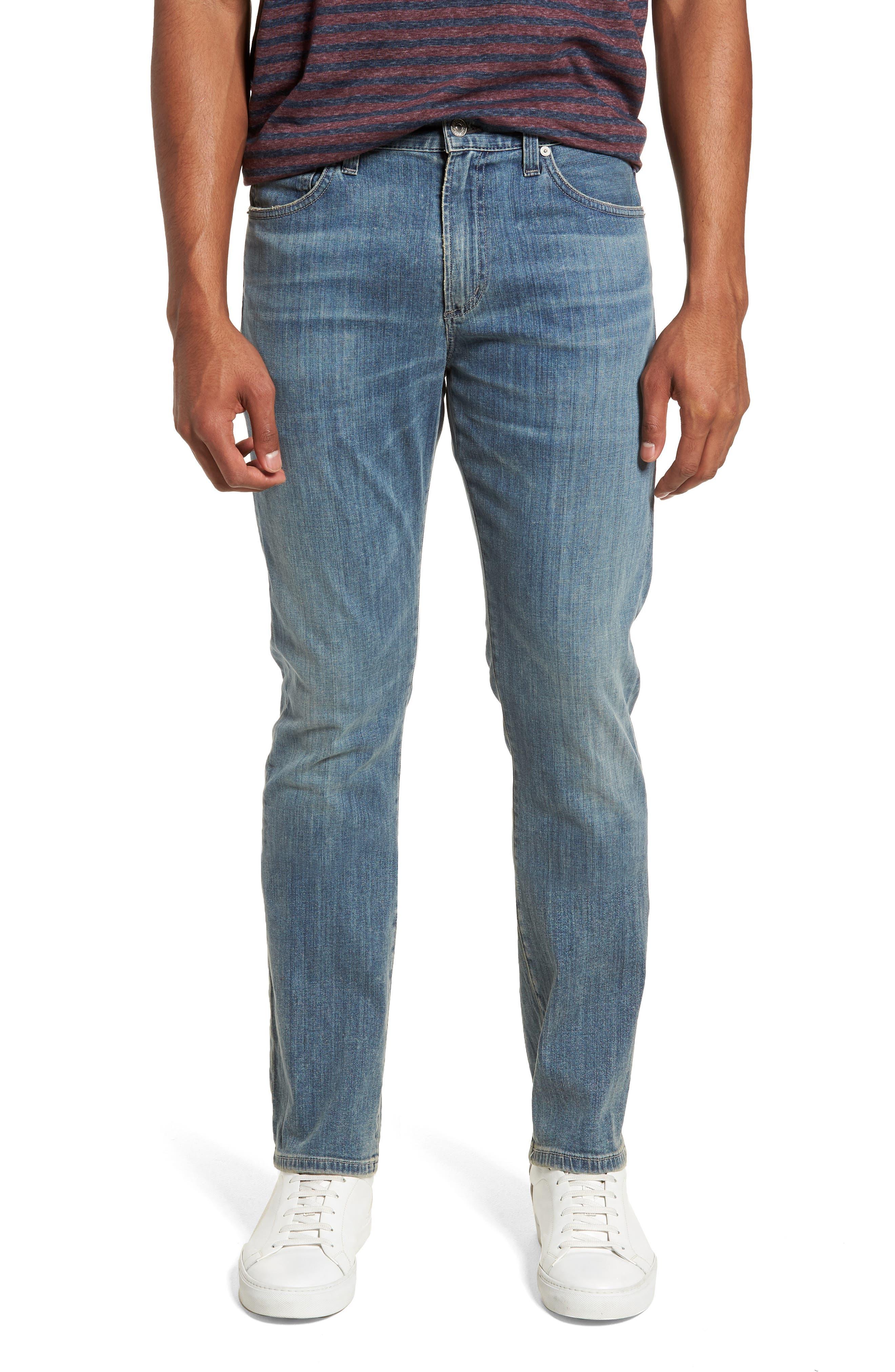 Gage Slim Straight Leg Jeans,                             Main thumbnail 1, color,                             Costa