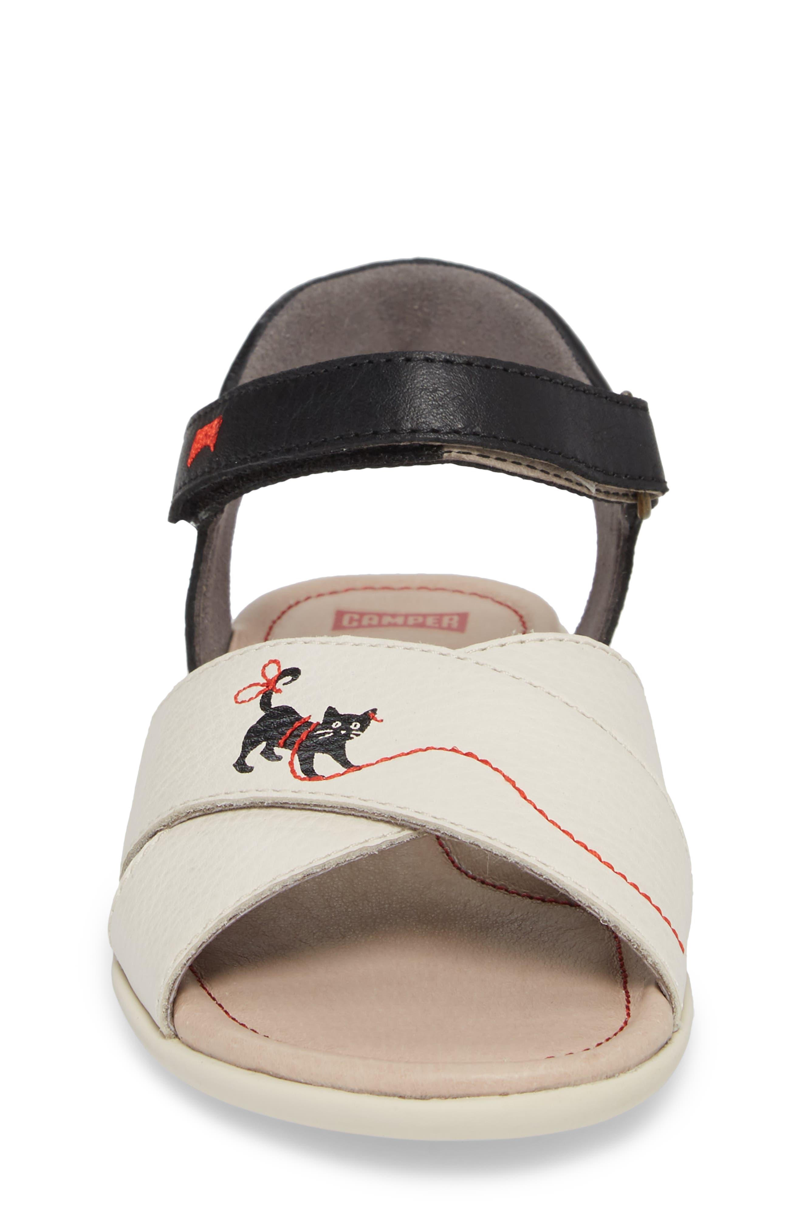 Alternate Image 4  - Camper Twins Sandal (Toddler, Little Kid & Big Kid)
