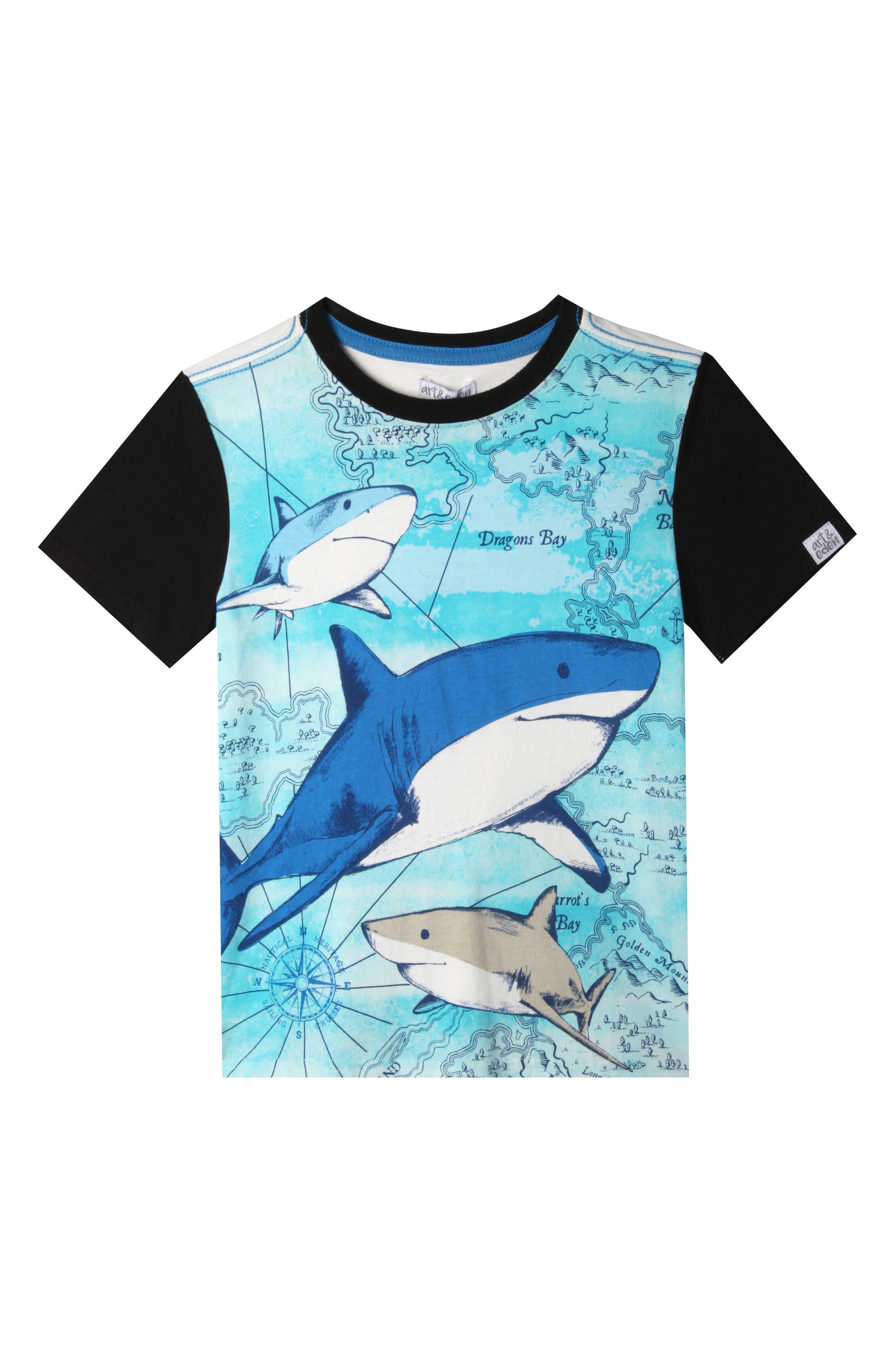Art & Eden Wyatt Organic Cotton T-Shirt (Toddler Boys, Little Boys & Big Boys)