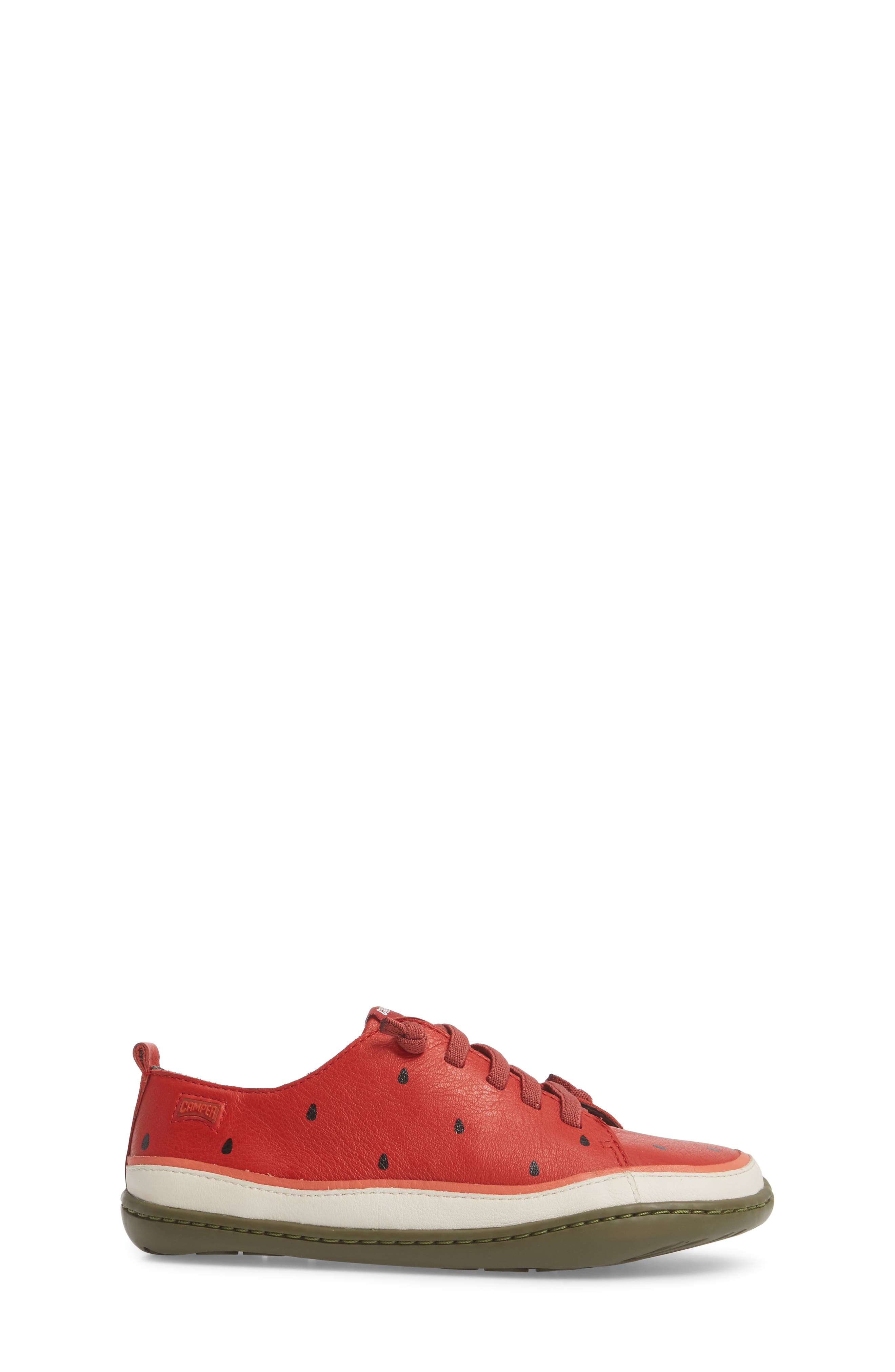 Twins Watermelon Sneaker,                             Alternate thumbnail 3, color,                             Red