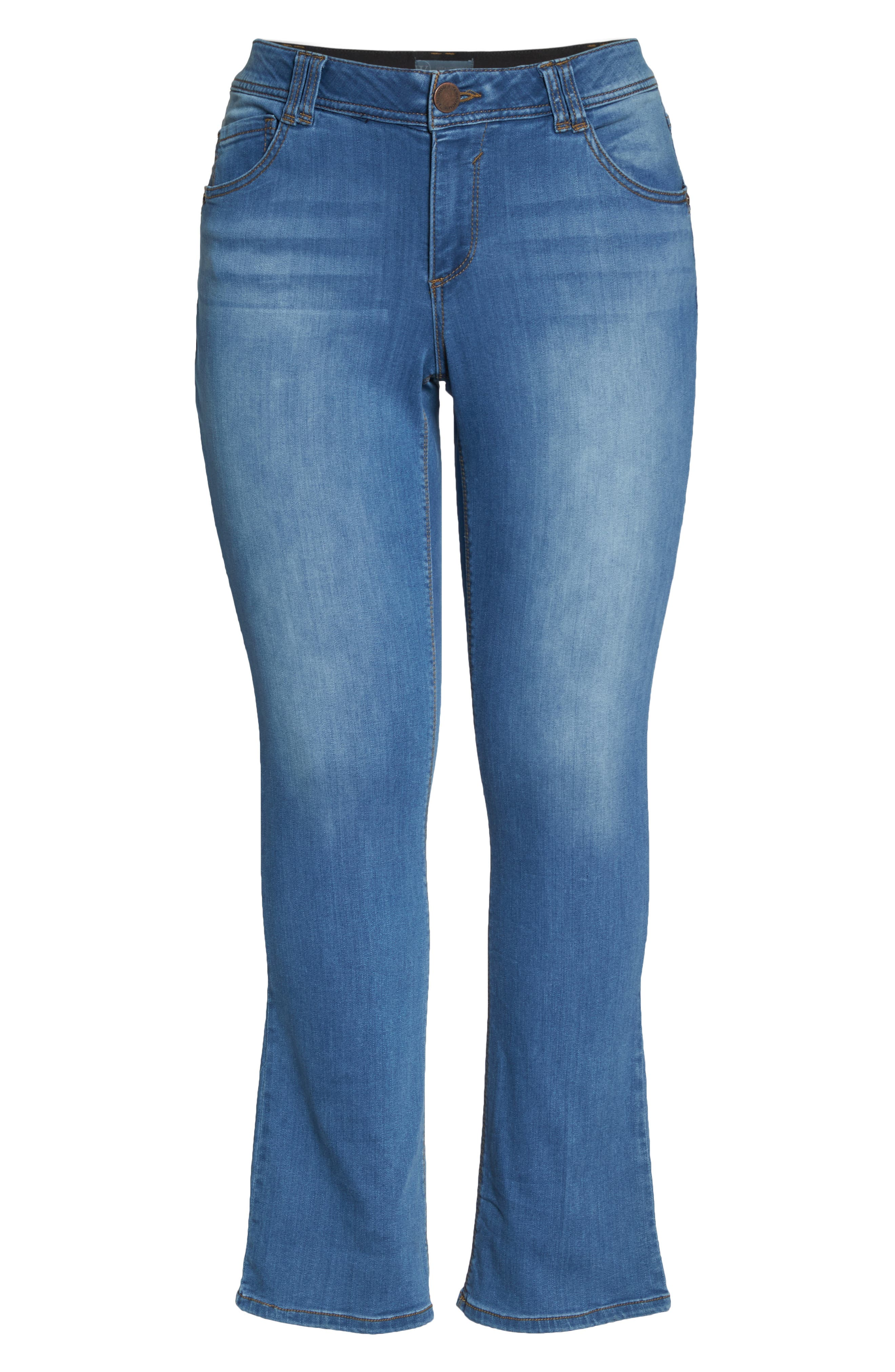 Ab-solution Luxe Touch Bootcut Jeans,                             Alternate thumbnail 7, color,                             Light Blue