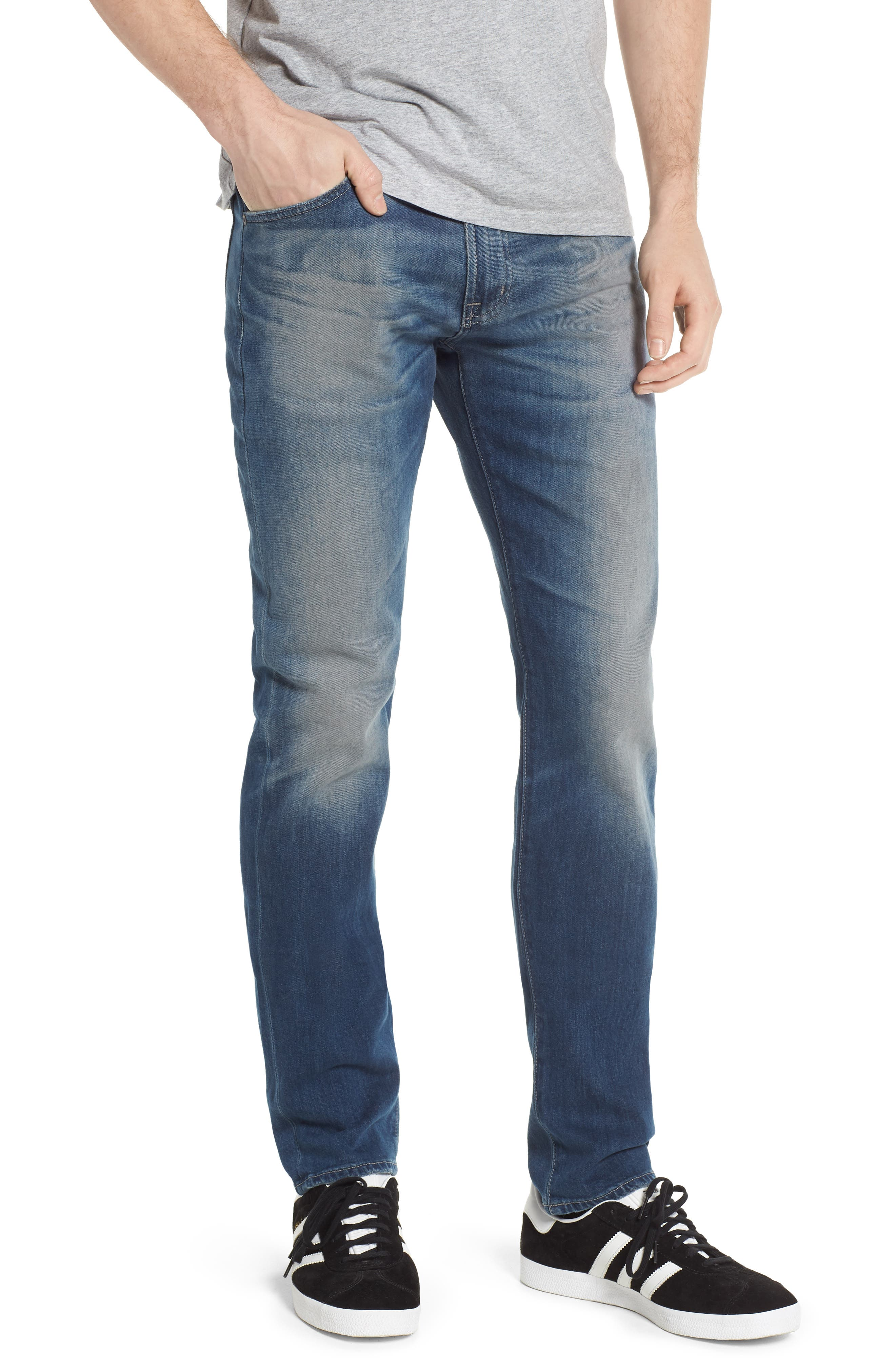 Dylan Skinny Fit Jeans,                             Main thumbnail 1, color,                             12 Years Off Ramp
