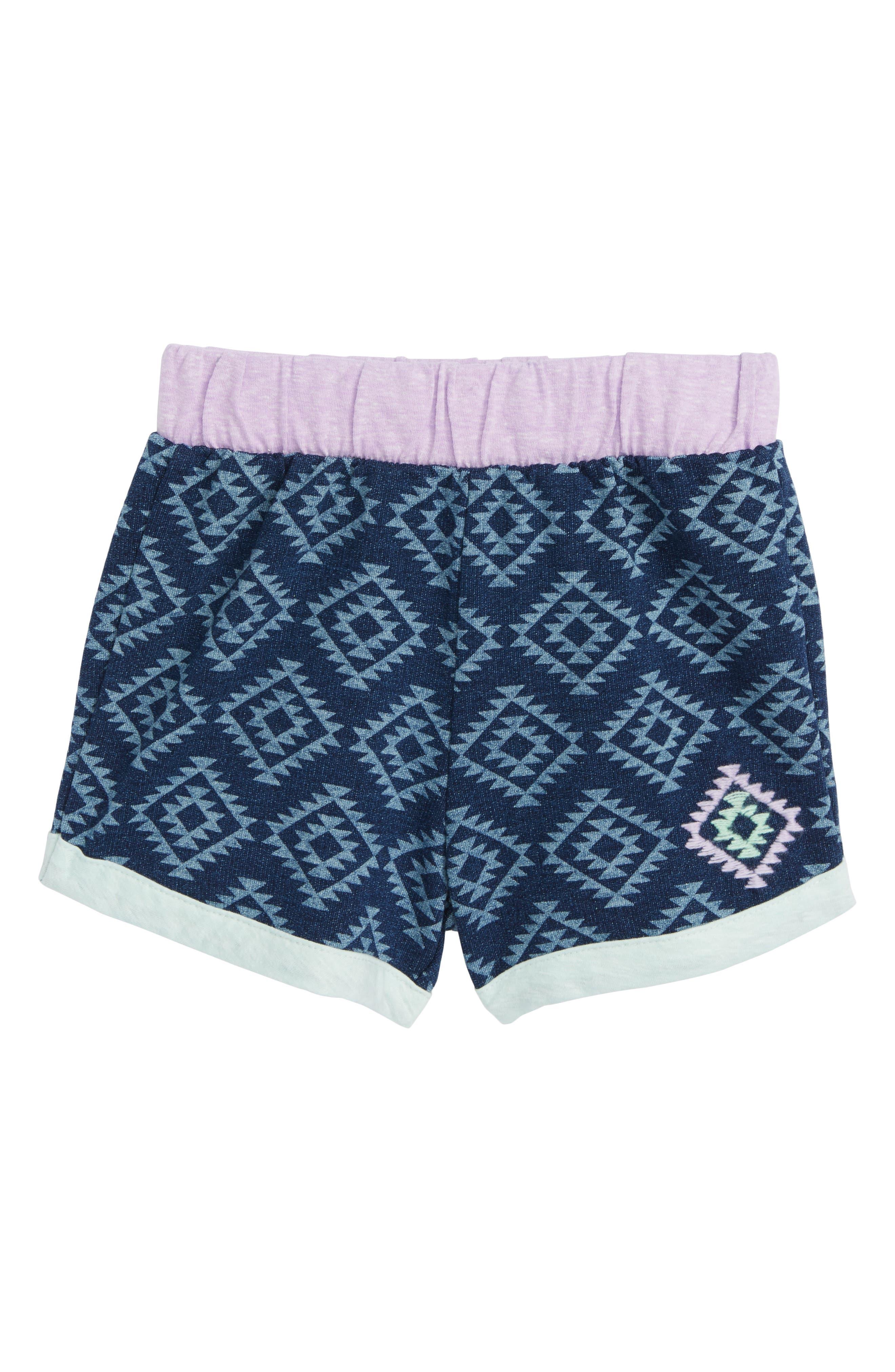 Miki Miette Camilla Print Shorts (Toddler Girls & Little Girls)