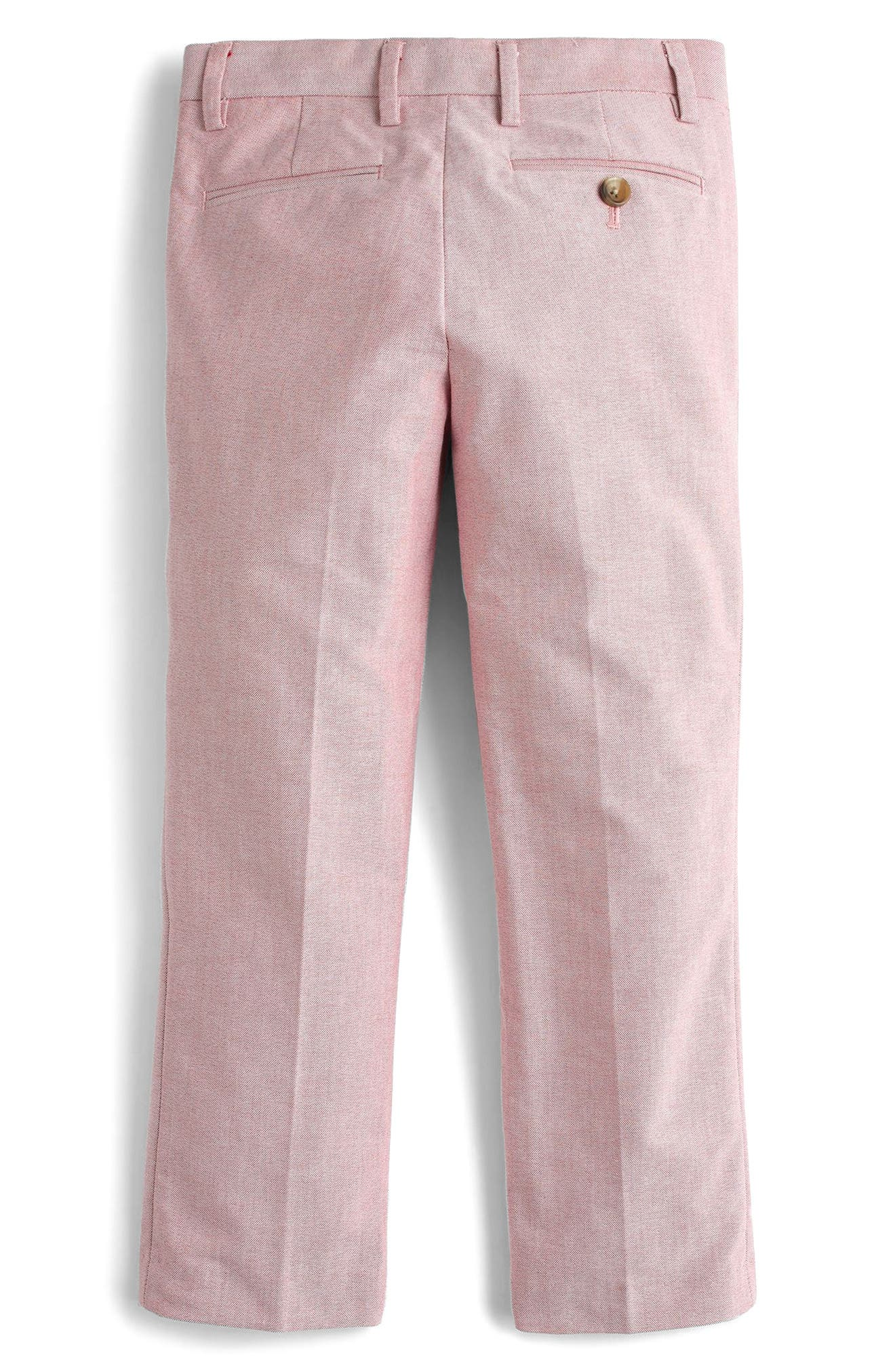 Alternate Image 2  - crewcuts by J.Crew Ludlow Stretch Oxford Suit Pants