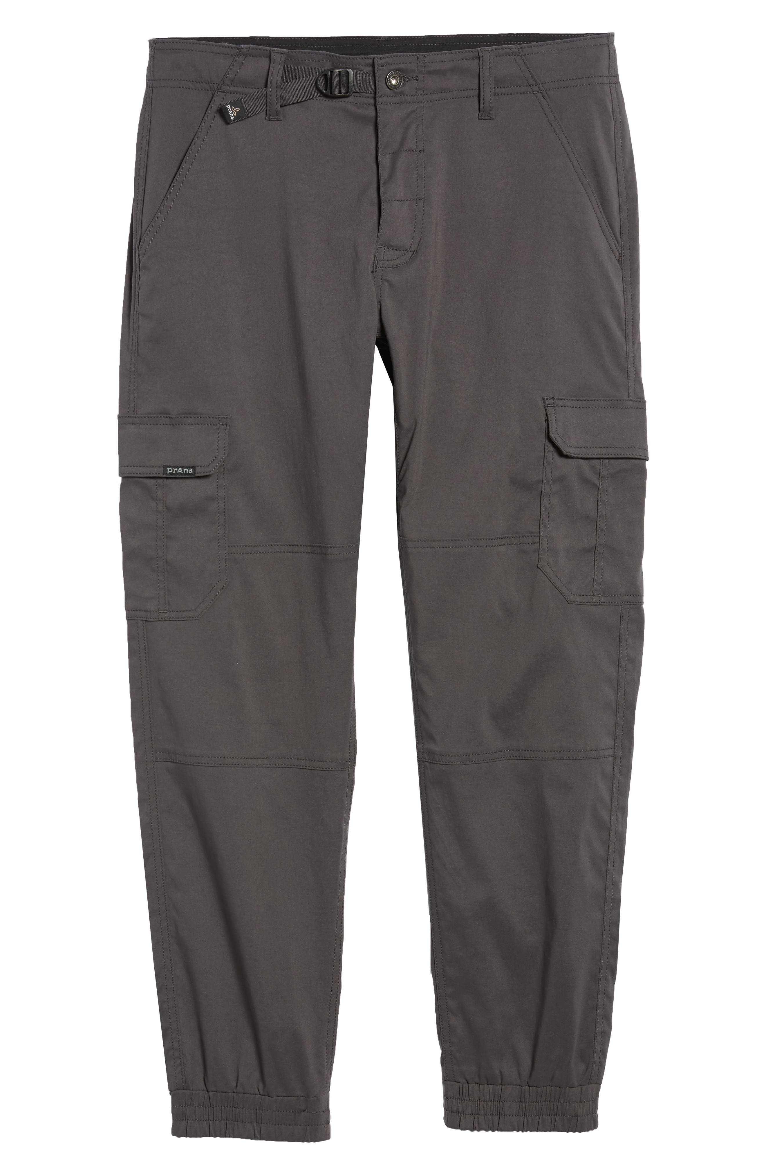Zion Water Repellent Stretch Jogger Pants,                             Alternate thumbnail 6, color,                             Charcoal