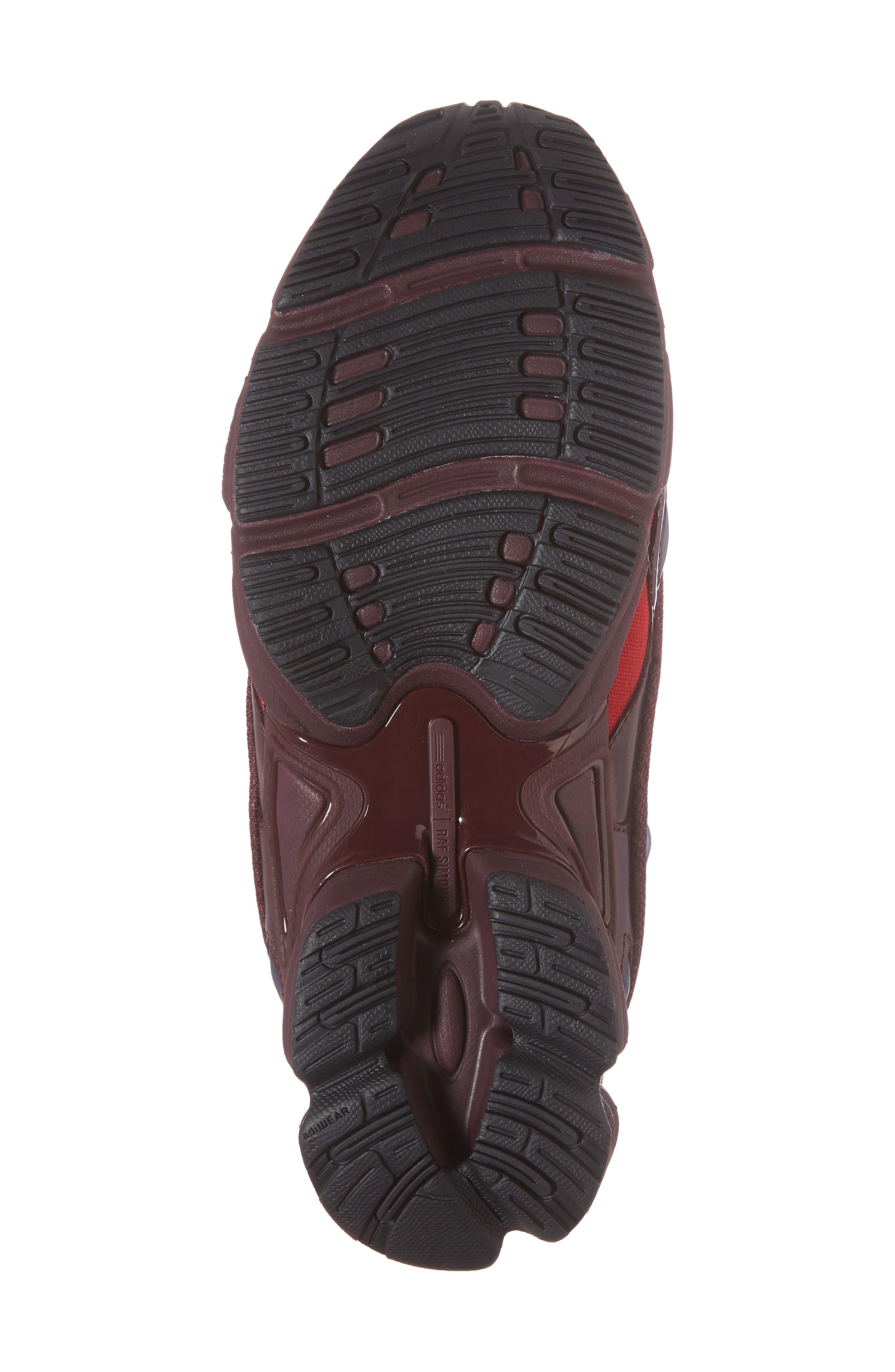 adidas by Raf Simons Ozweego III Sneaker,                             Alternate thumbnail 6, color,                             Burgundy/ Maroon/ Scarlet
