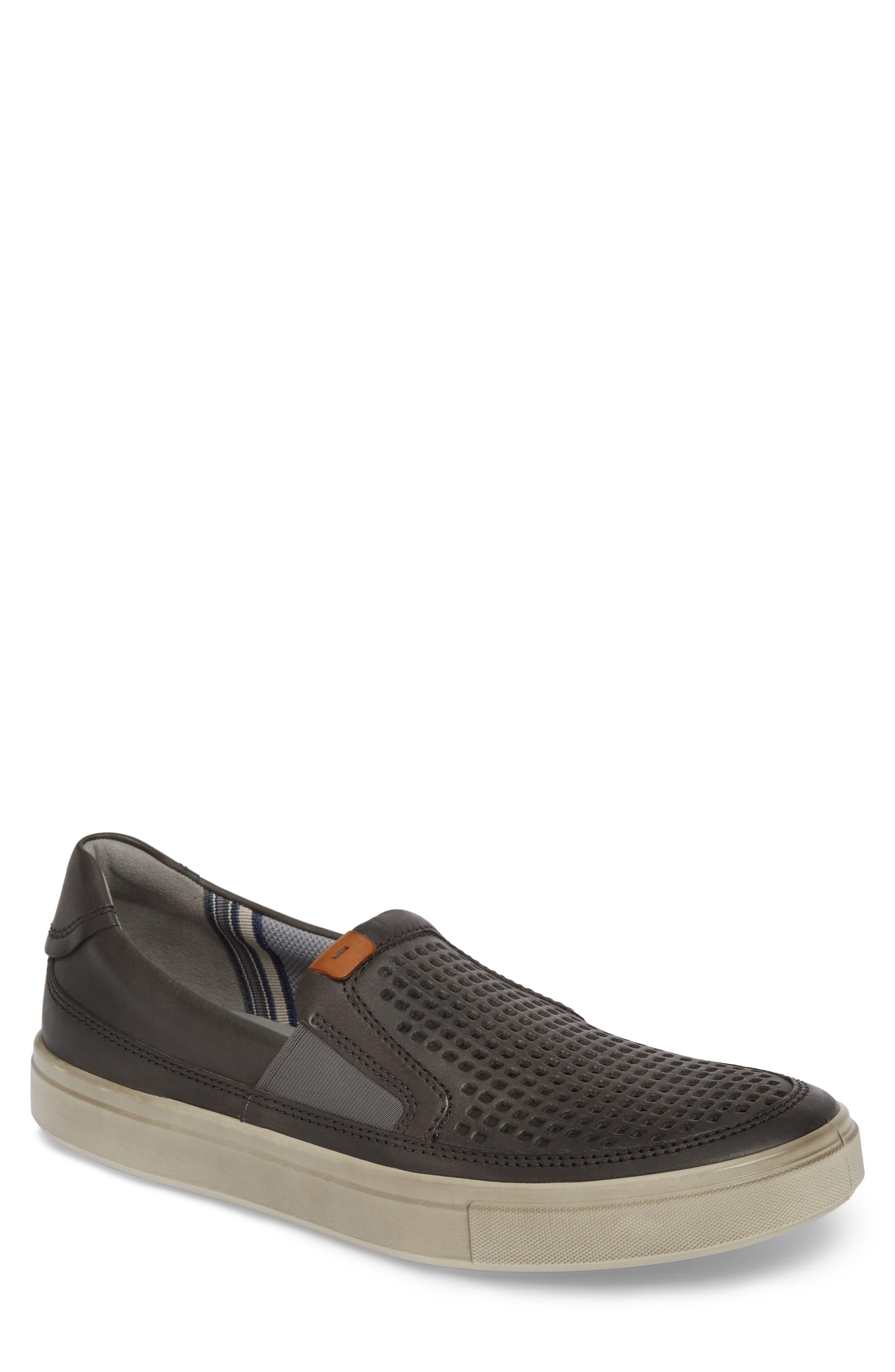 ECCO Kyle Perforated Slip-On Sneaker (Men)