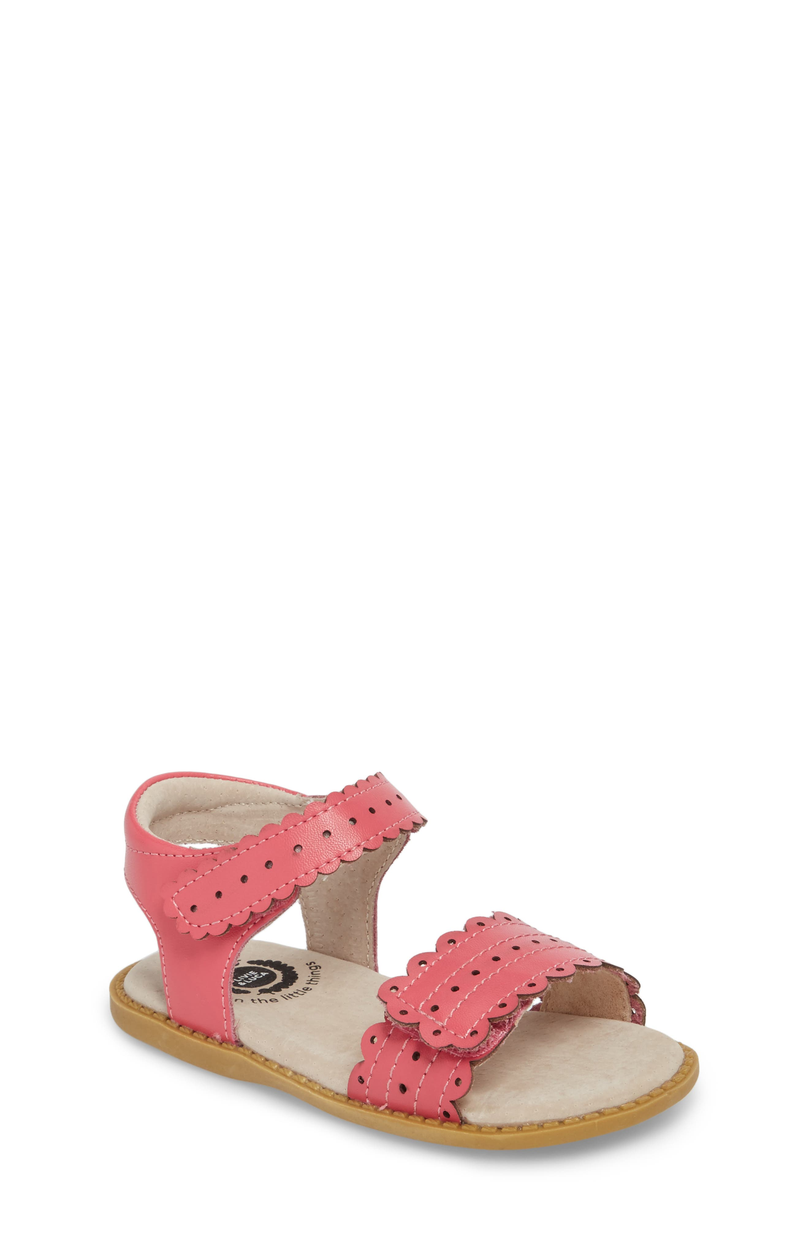 Posey Sandal,                         Main,                         color, Rosy Pink
