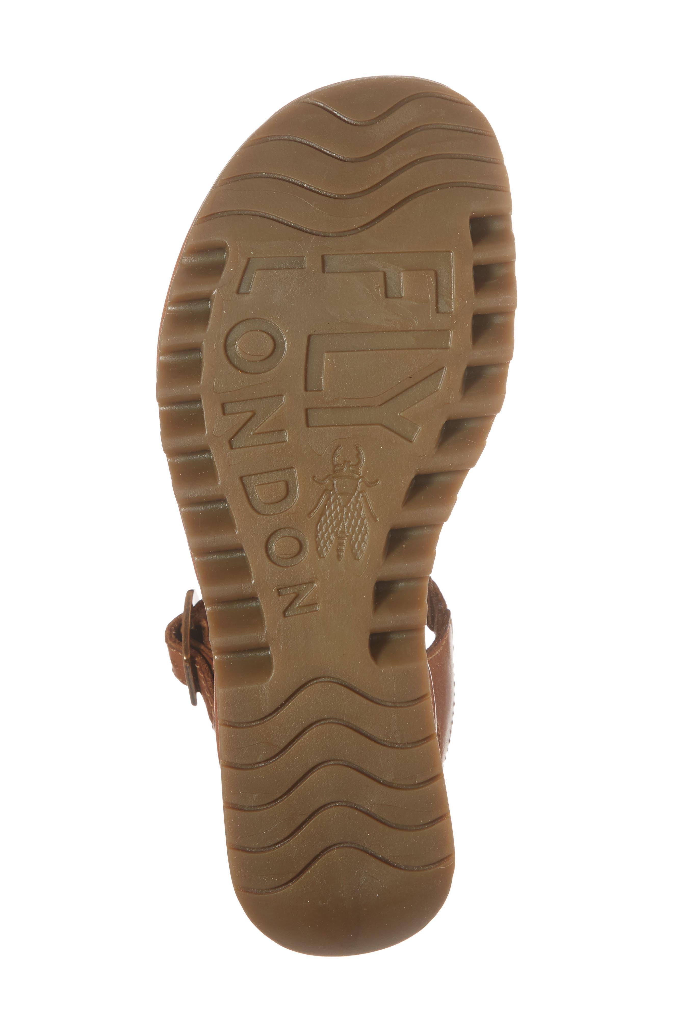 Egal Sandal,                             Alternate thumbnail 6, color,                             Tan Colmar Leather