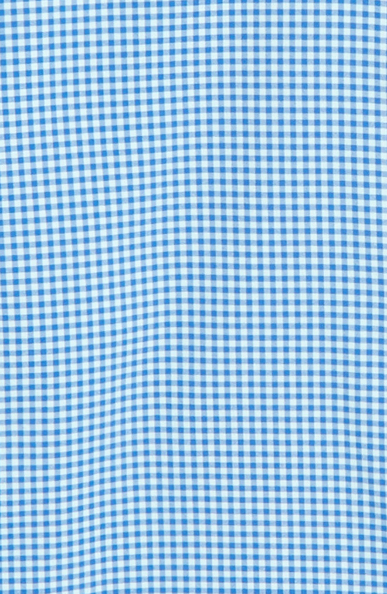 Marina Gingham Check Whale Shirt,                             Alternate thumbnail 2, color,                             Clearwater