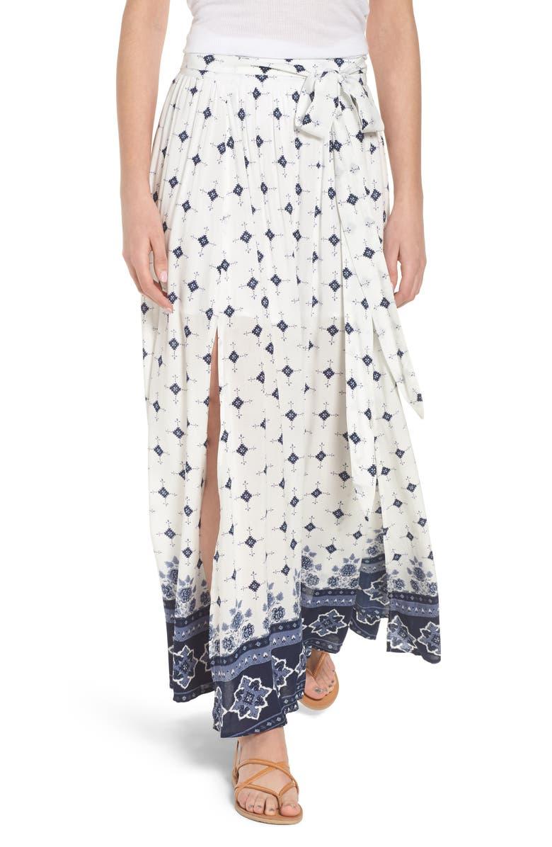 Morning Tides Maxi Skirt