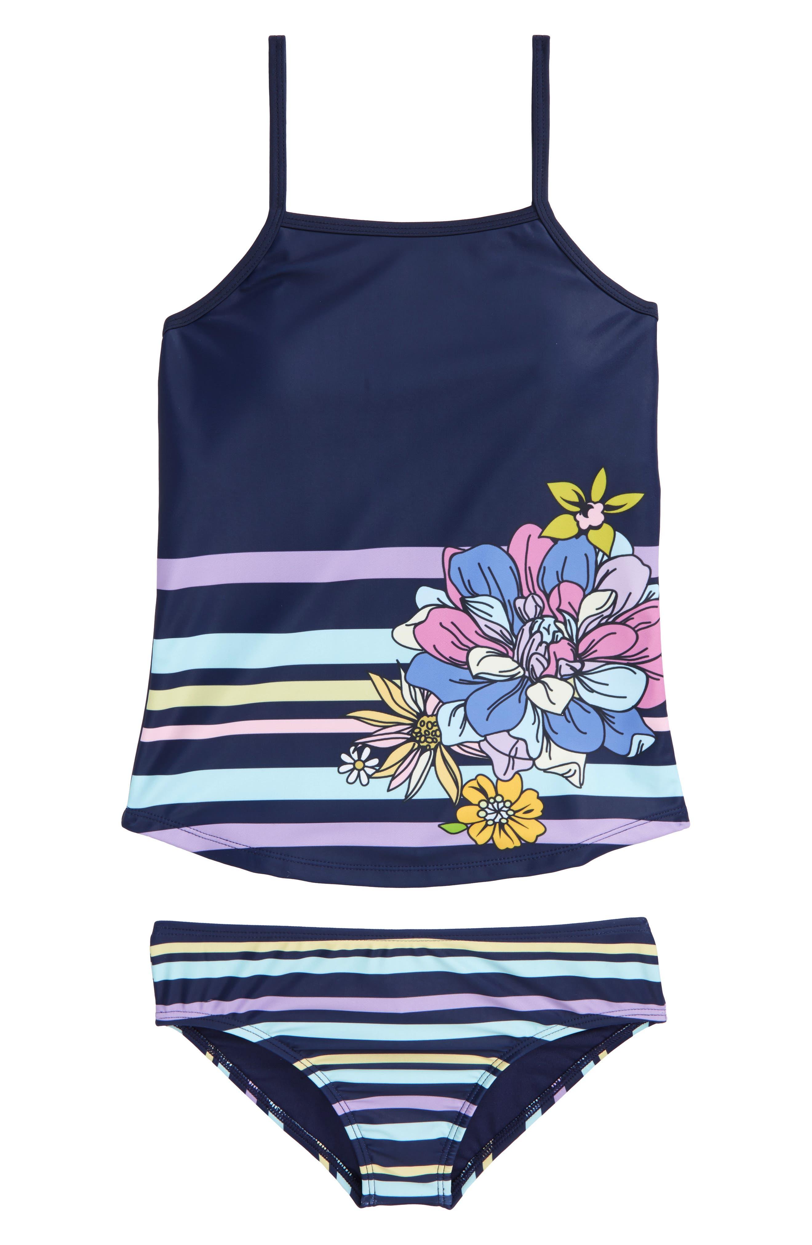 Gweyn Two-Piece Tankini Swimsuit,                         Main,                         color, Multi