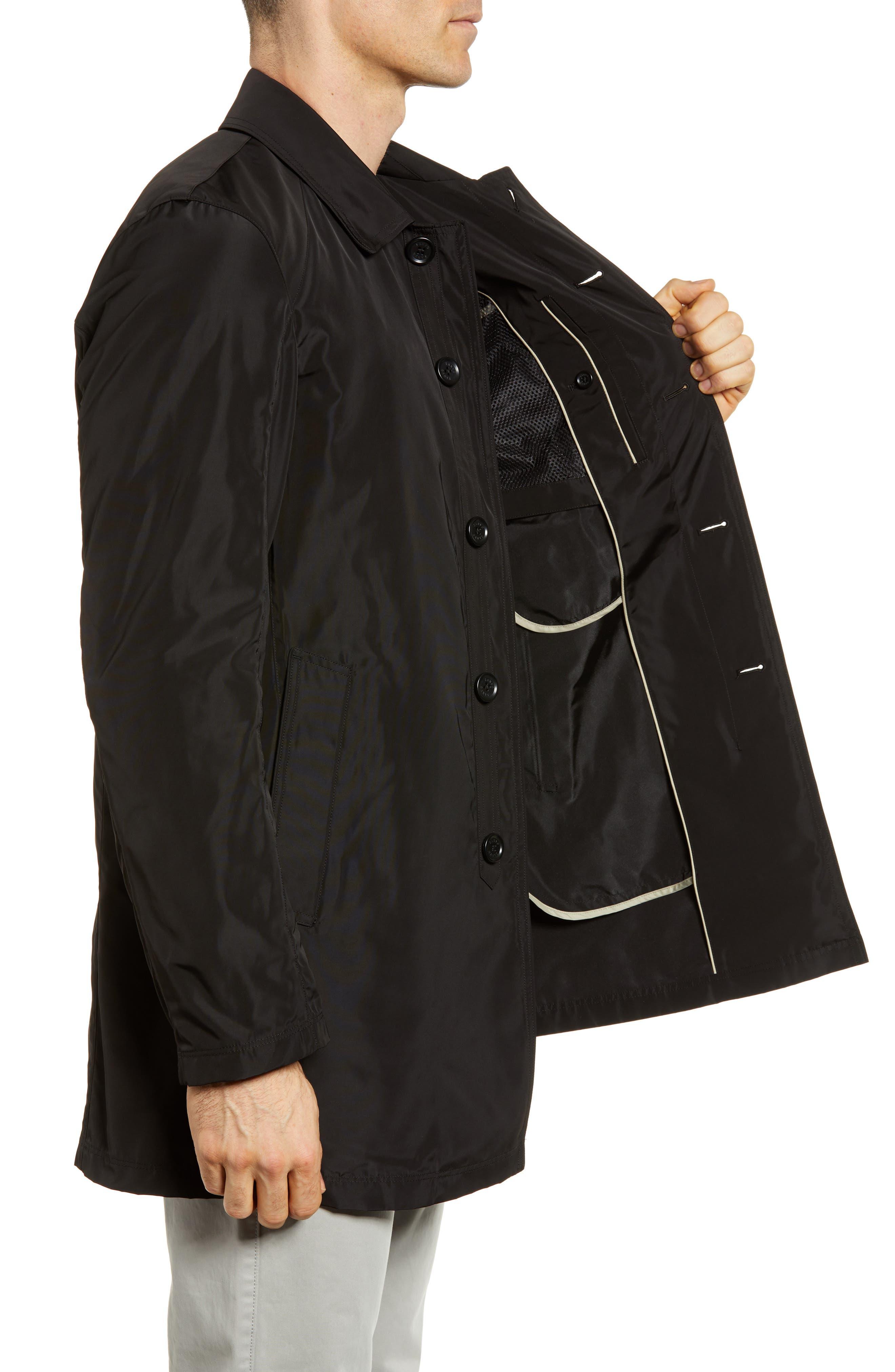 S/B Raincoat,                             Alternate thumbnail 3, color,                             Black