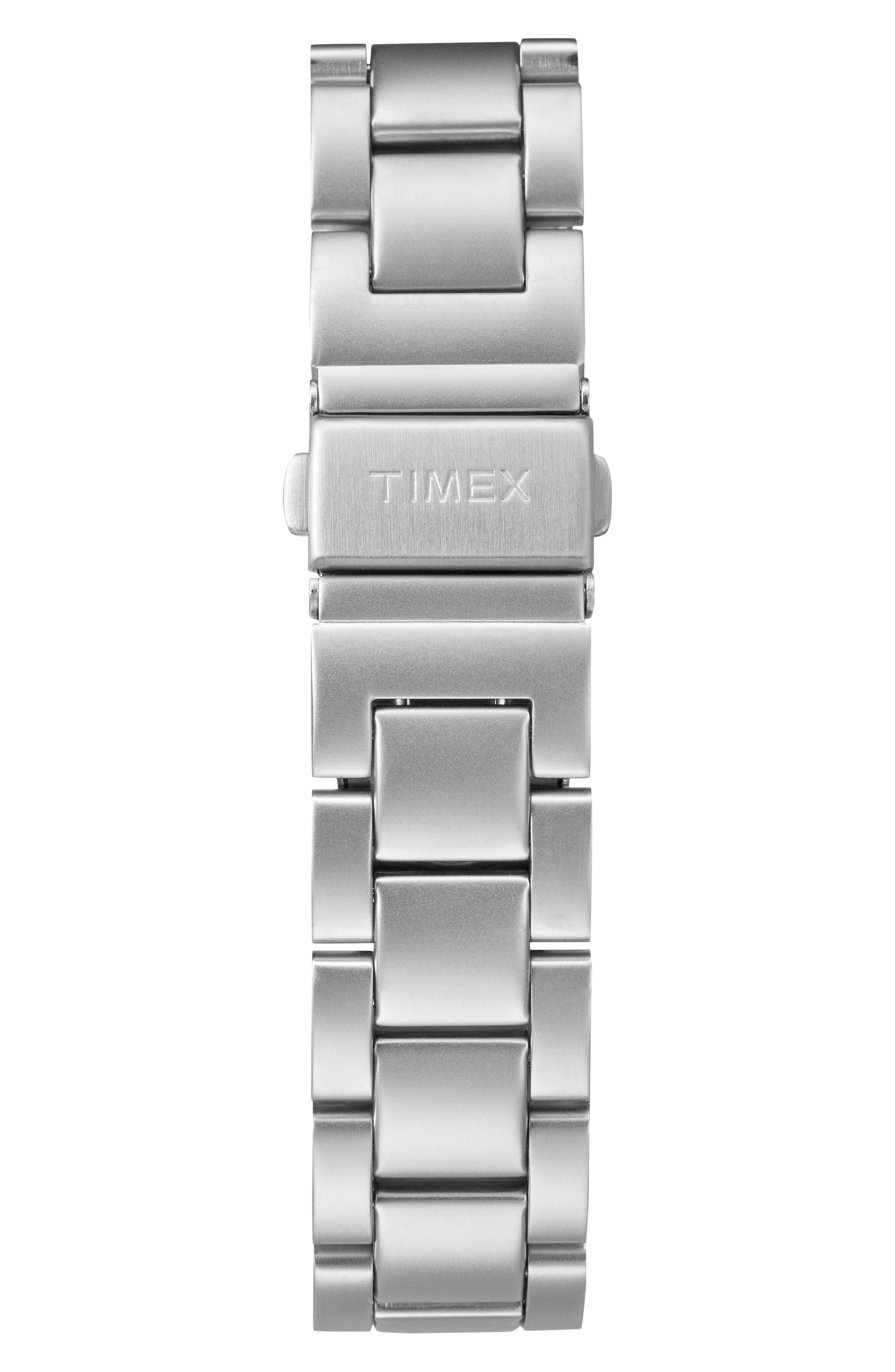 Allied Bracelet Watch, 40mm,                             Alternate thumbnail 2, color,                             Silver/ White/ Silver