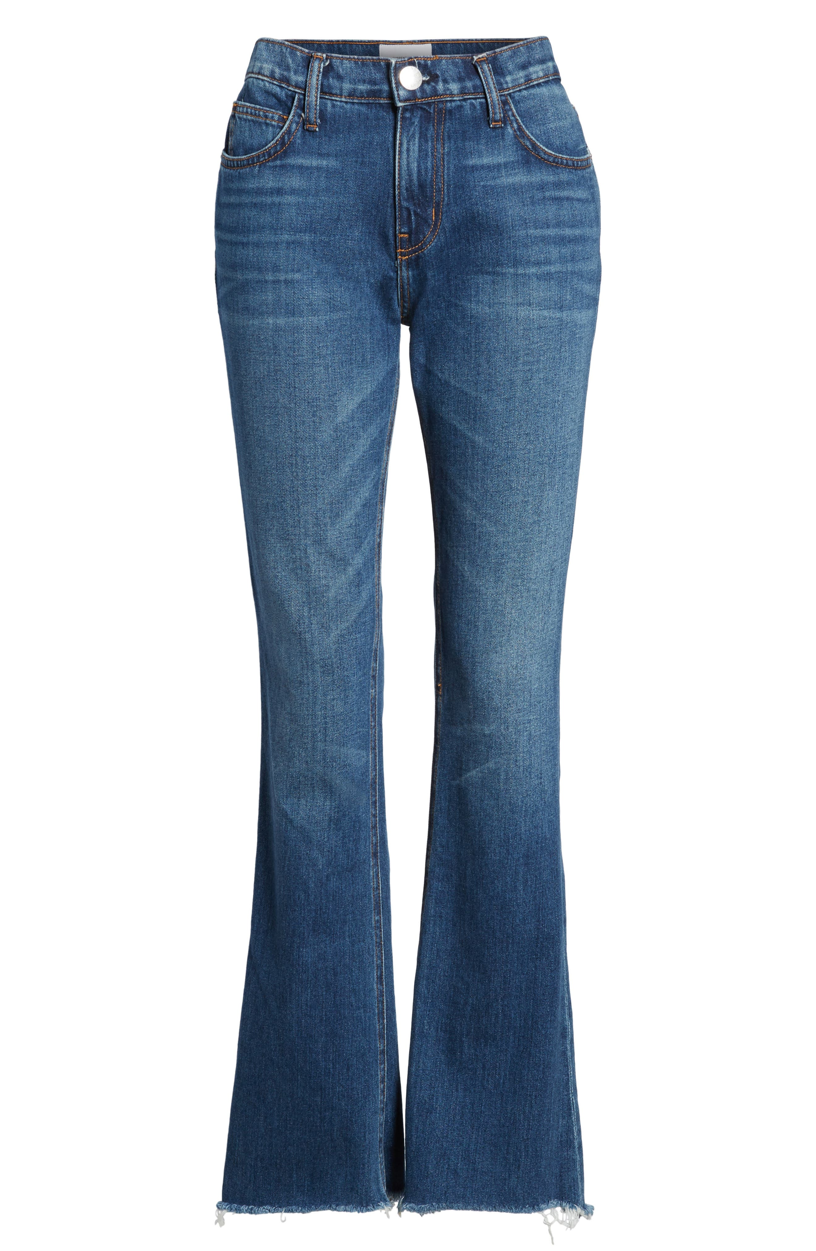 The Flip Flop Flare Jeans,                             Alternate thumbnail 7, color,                             Westry