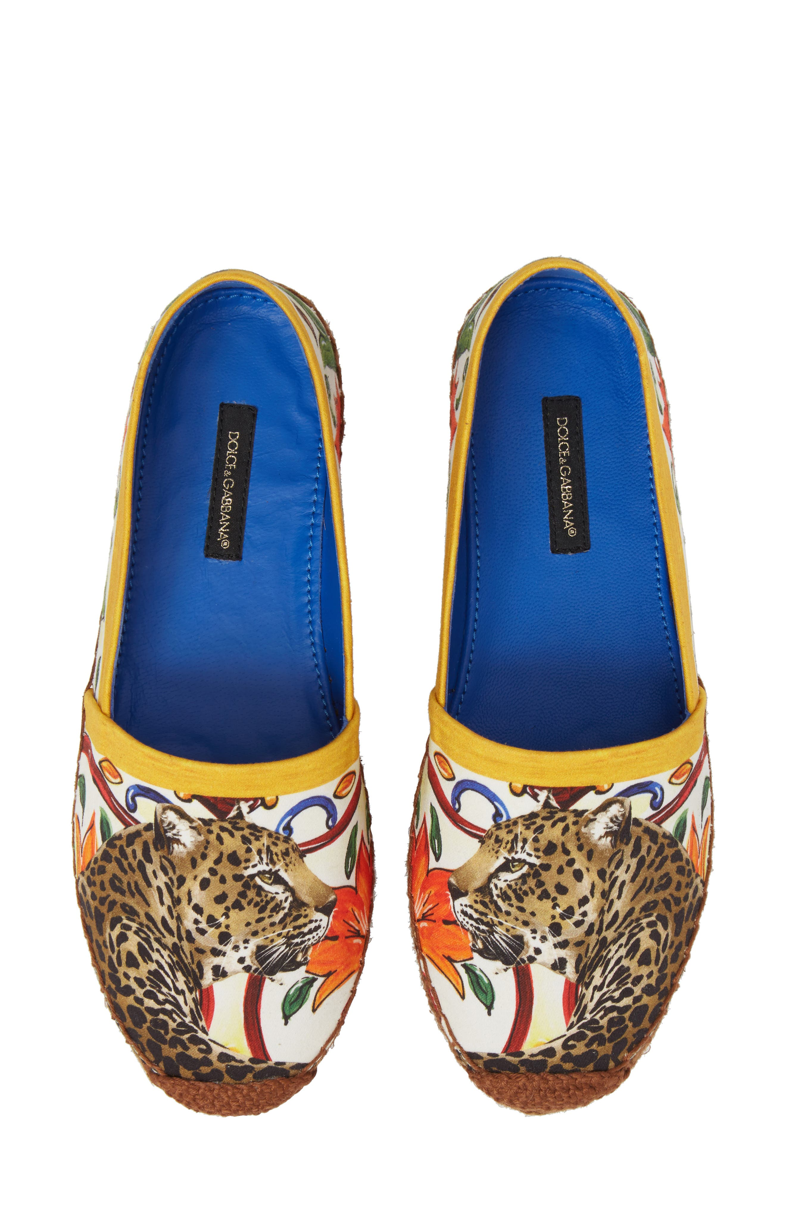 Dolce&Gabbana Leopard Espadrile Slip-On (Women)