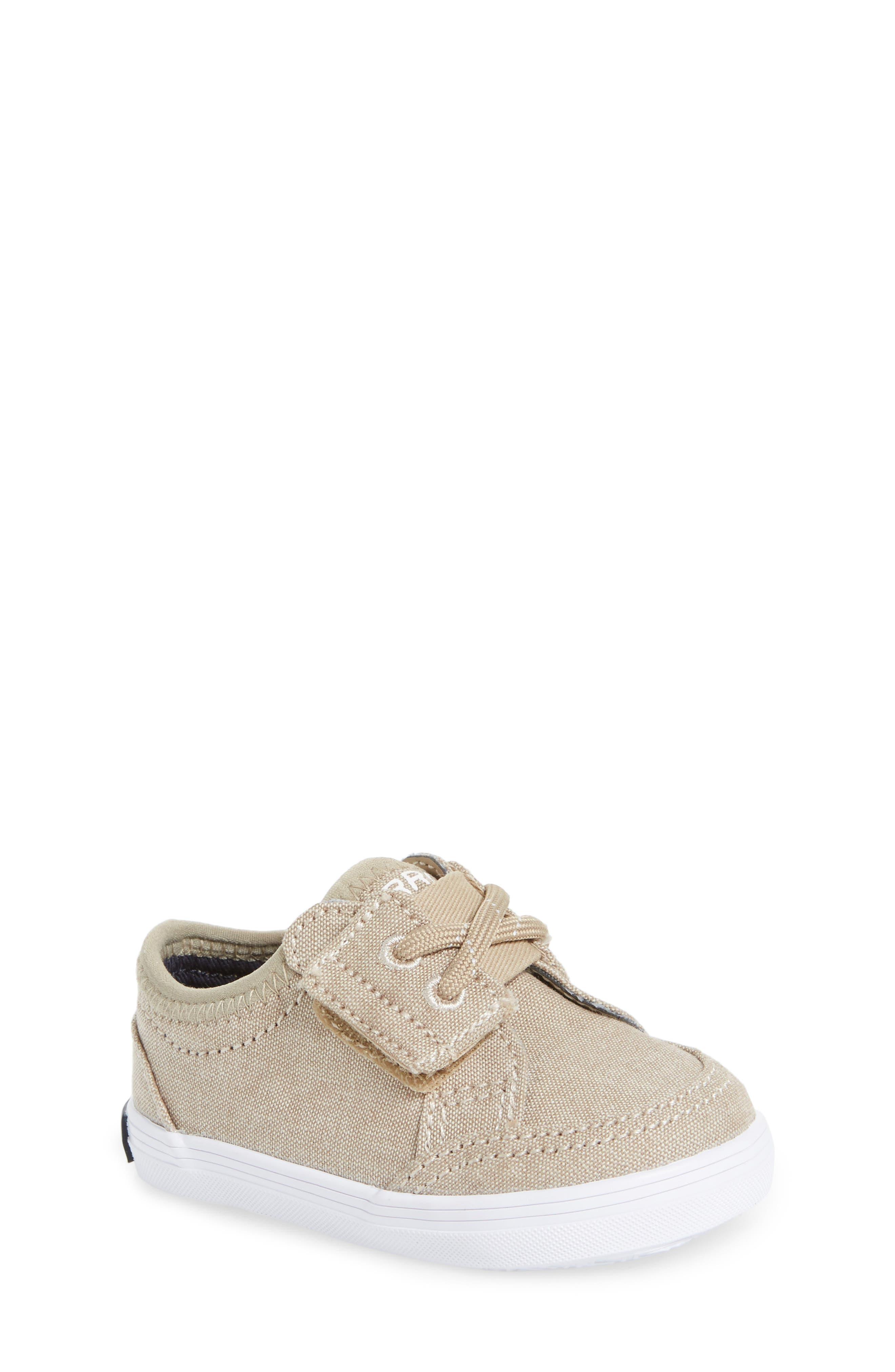 Deckfin Crib Jr. Sneaker,                         Main,                         color, Khaki