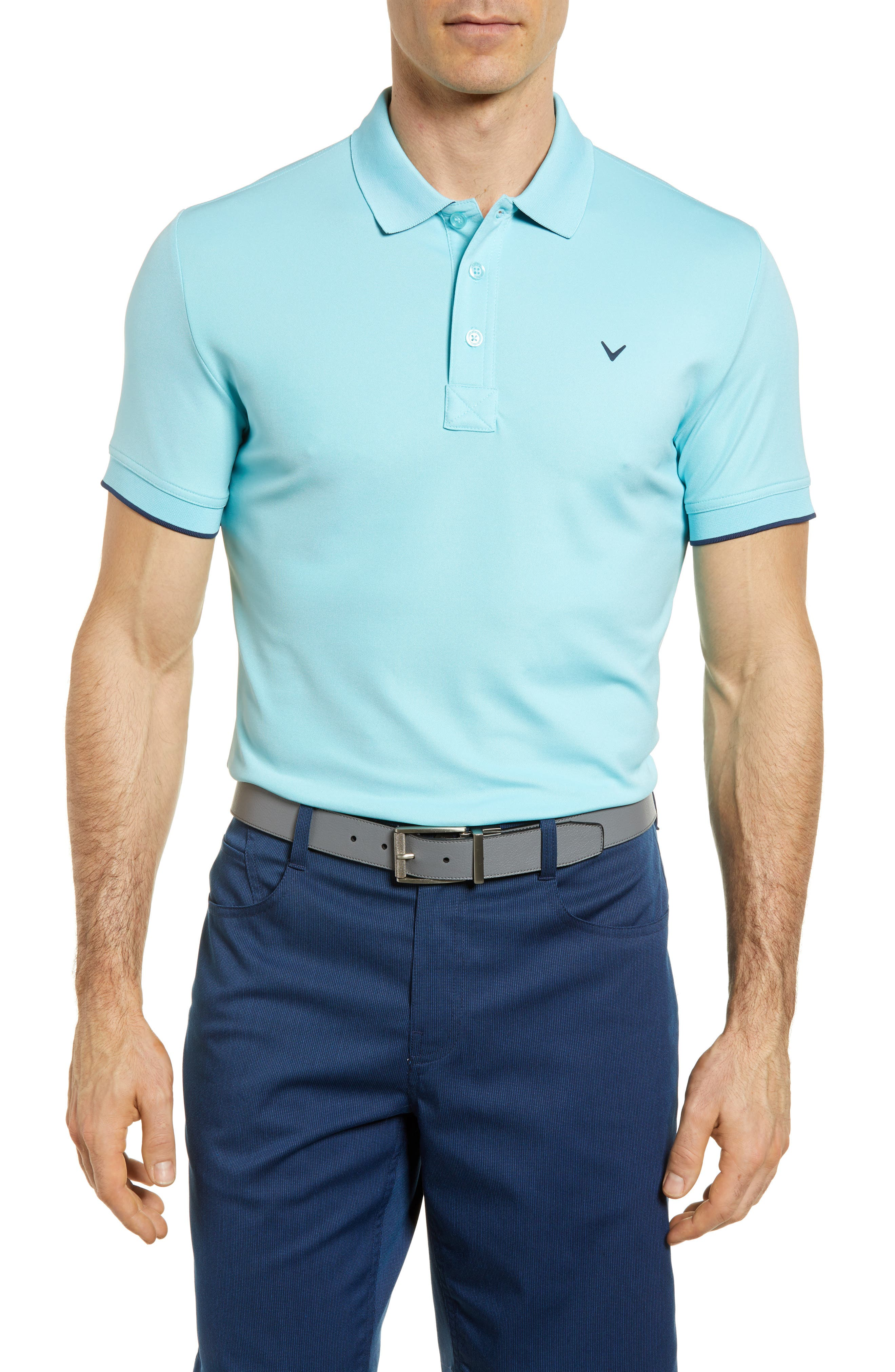 Slim Fit Stretch Polo Shirt,                             Main thumbnail 1, color,                             Petit Four