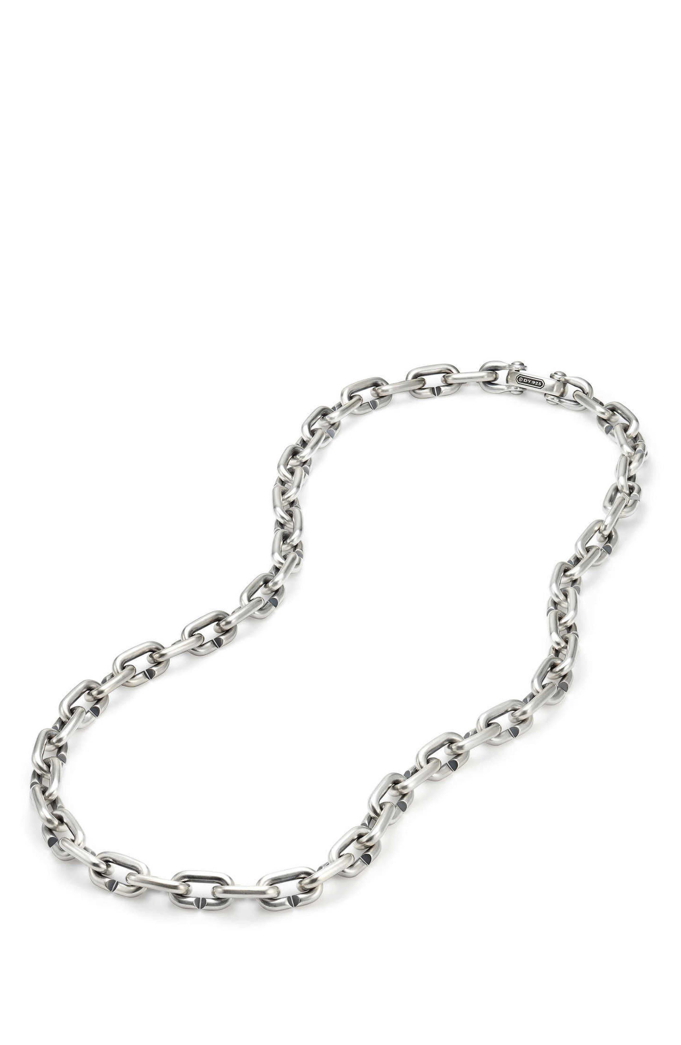 David Yurman Bold Chain Links Necklace
