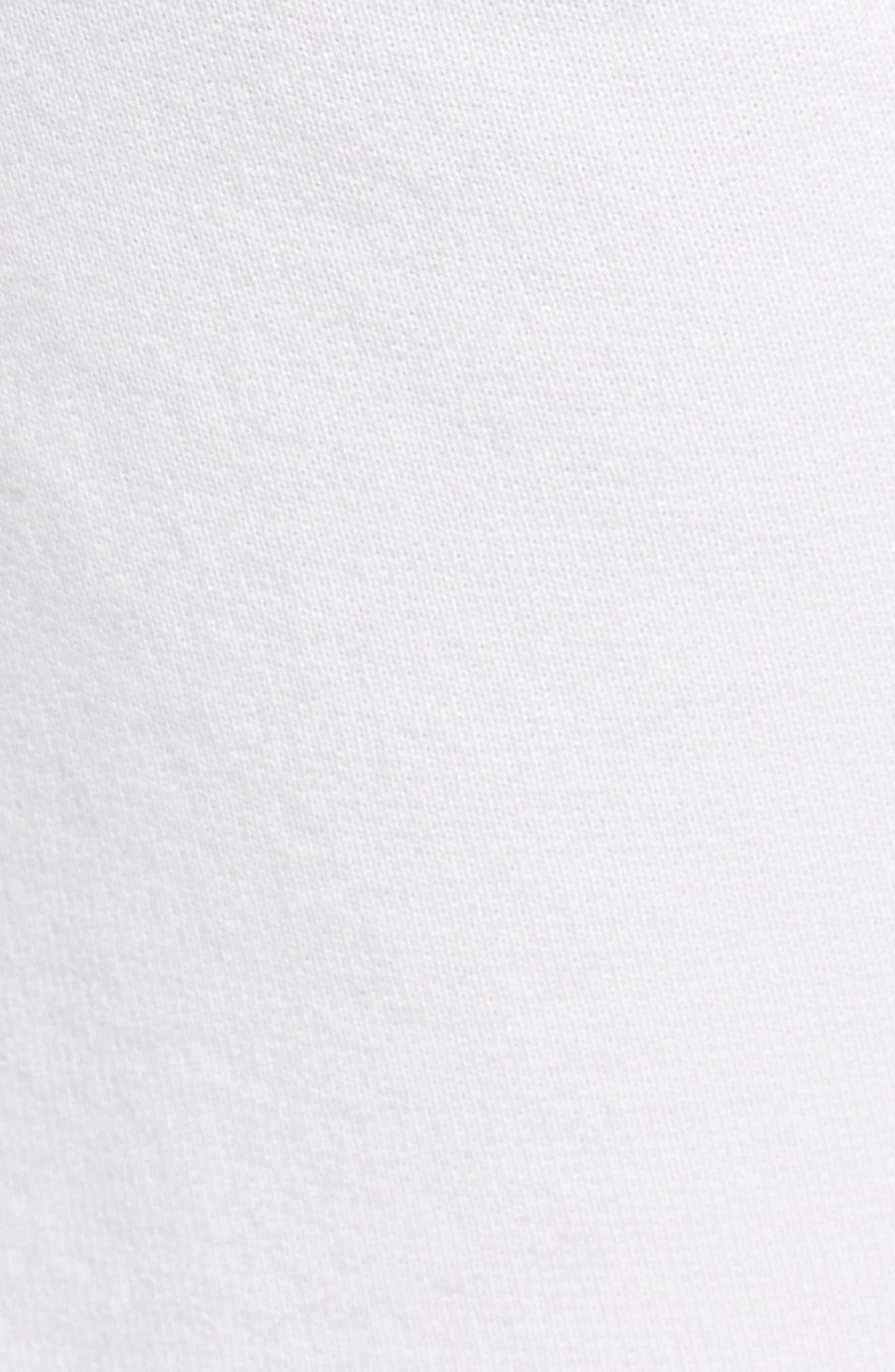 Fleece Shorts,                             Alternate thumbnail 5, color,                             Dirty White 10 Yr Vintage